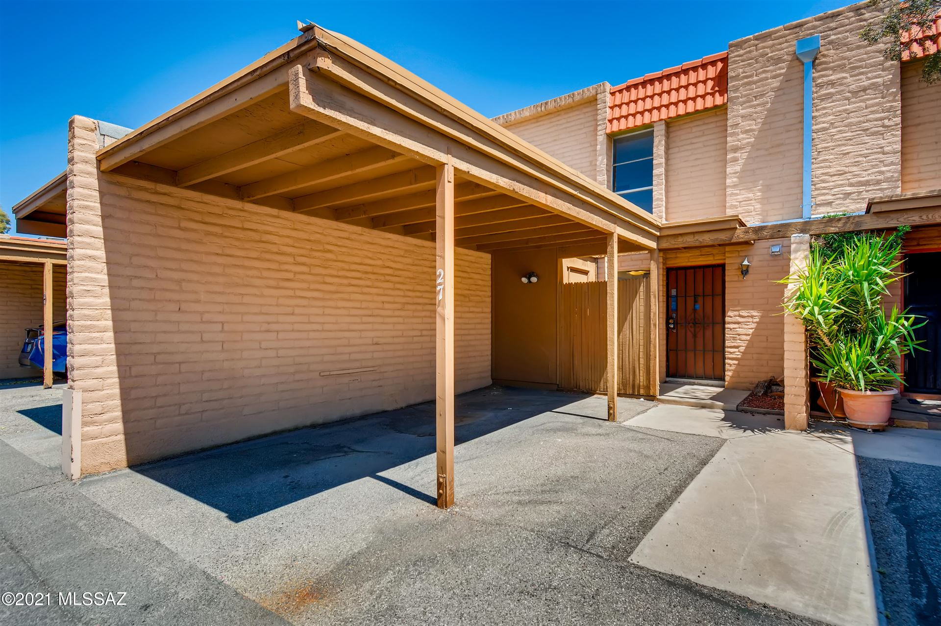 2875 N Tucson Boulevard #27, Tucson, AZ 85716 - MLS#: 22108370