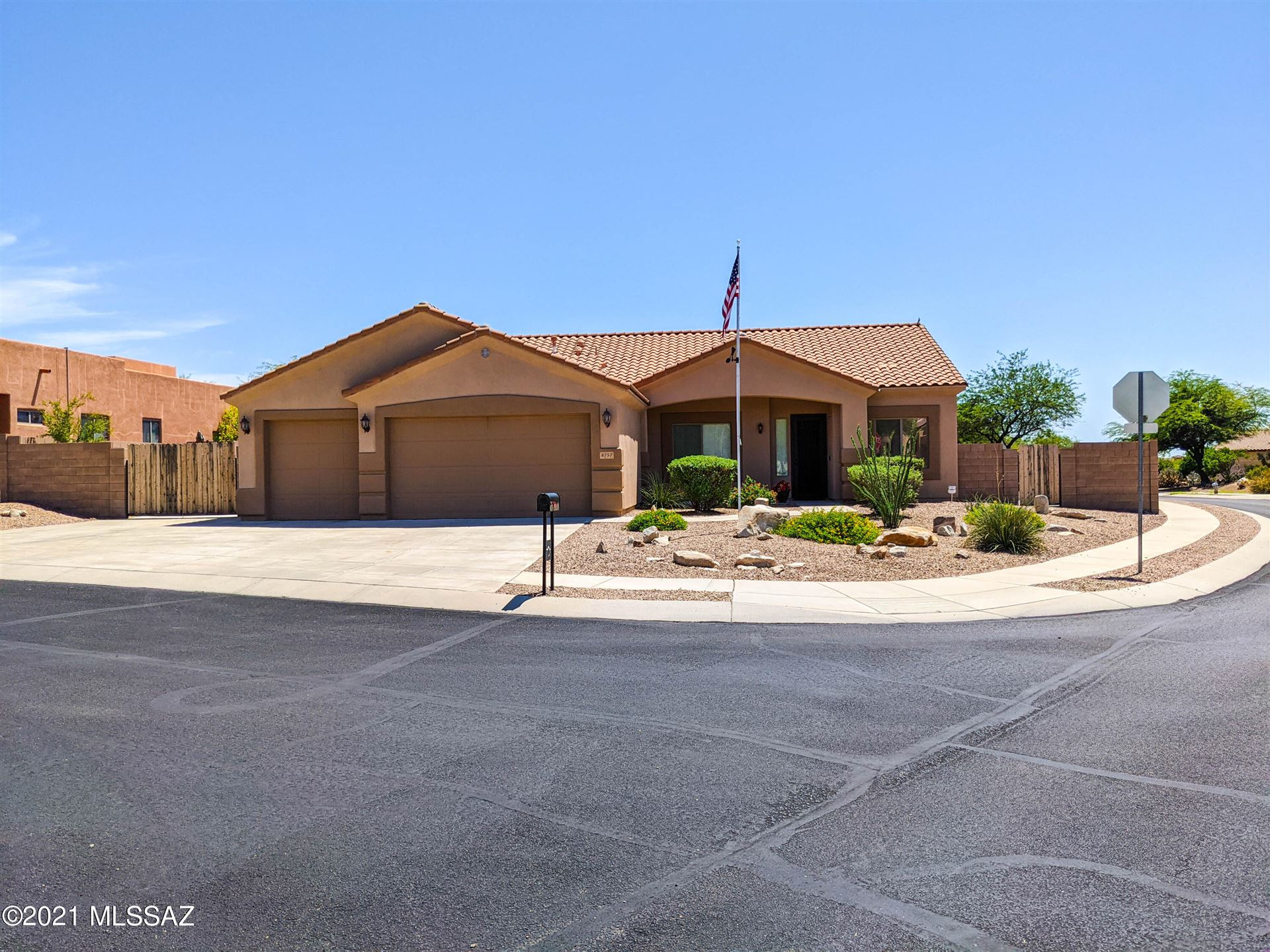 4757 Cactus Bluff Drive, Marana, AZ 85658 - MLS#: 22123400