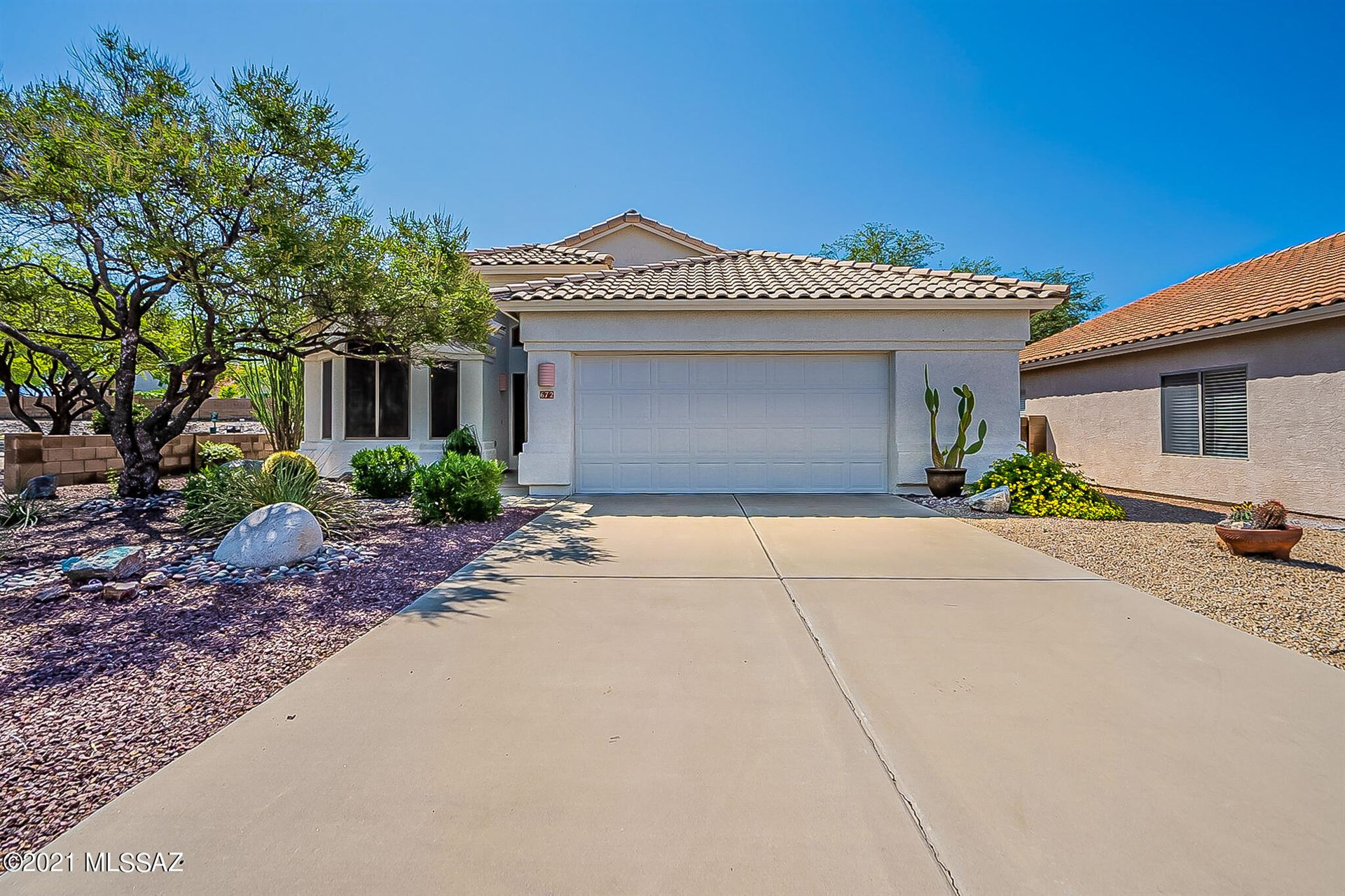 672 S Rincon Rising Road, Tucson, AZ 85748 - MLS#: 22119539