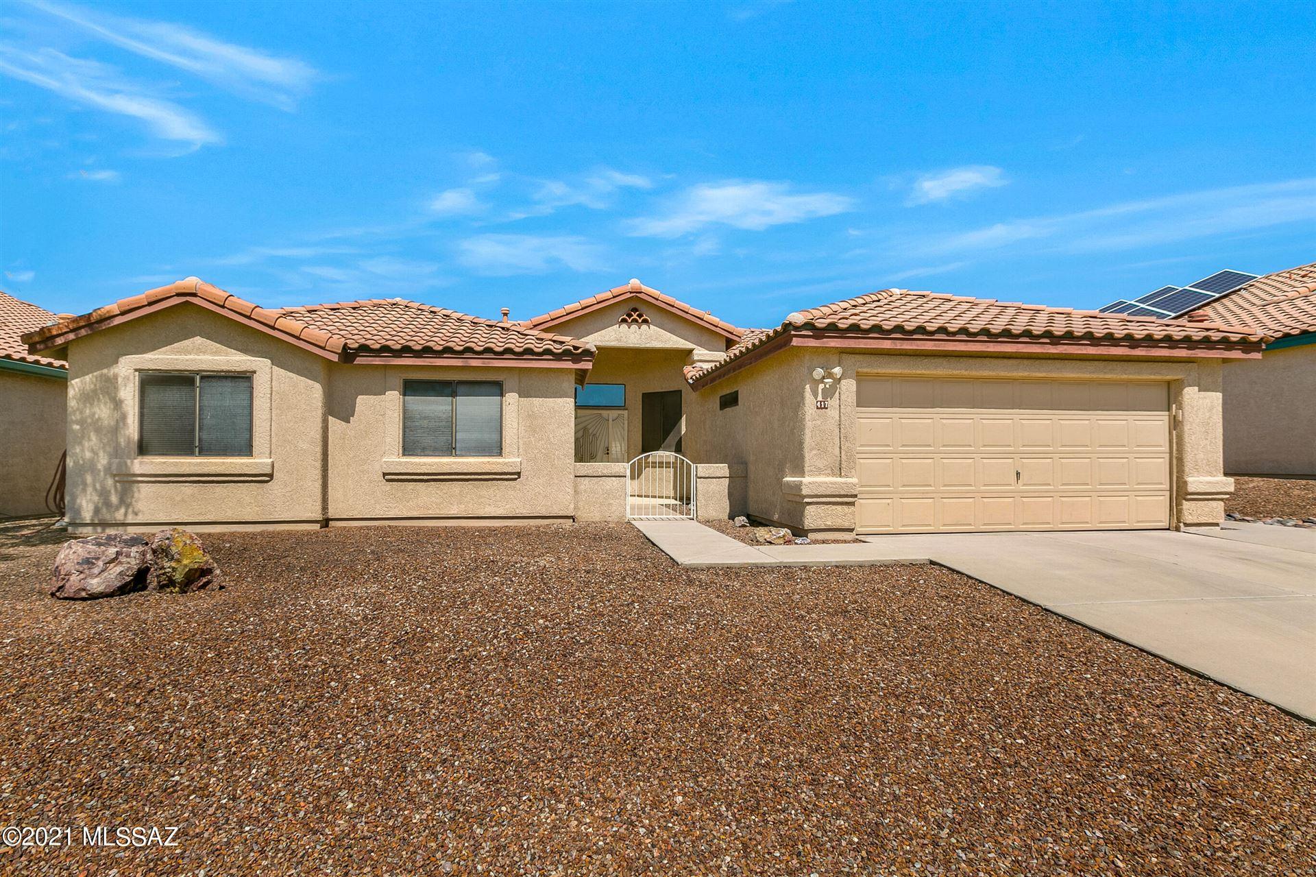 417 N Sedge Lane, Tucson, AZ 85748 - MLS#: 22124562