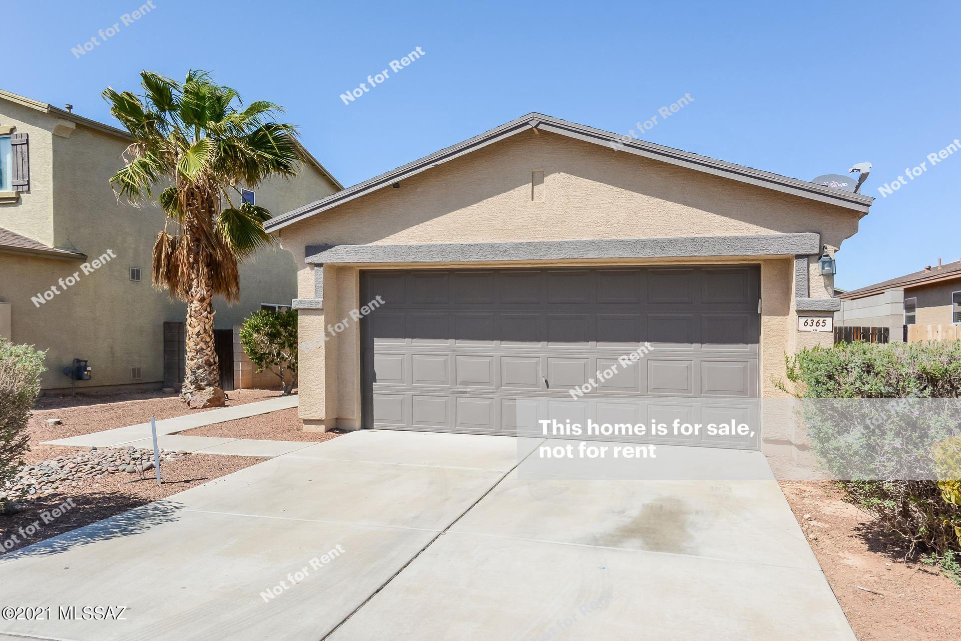 6365 S Sunrise Valley Drive, Tucson, AZ 85706 - MLS#: 22111582
