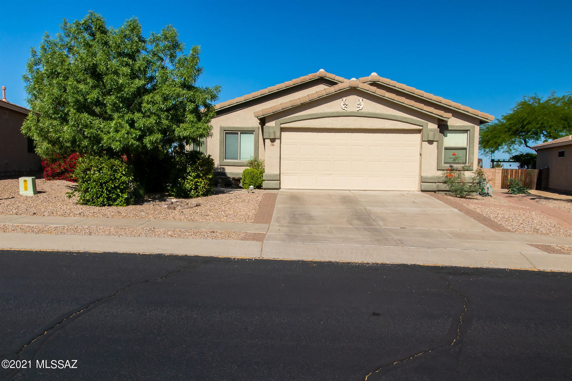 496 S Sweet Ridge Drive, Vail, AZ 85641 - MLS#: 22121606