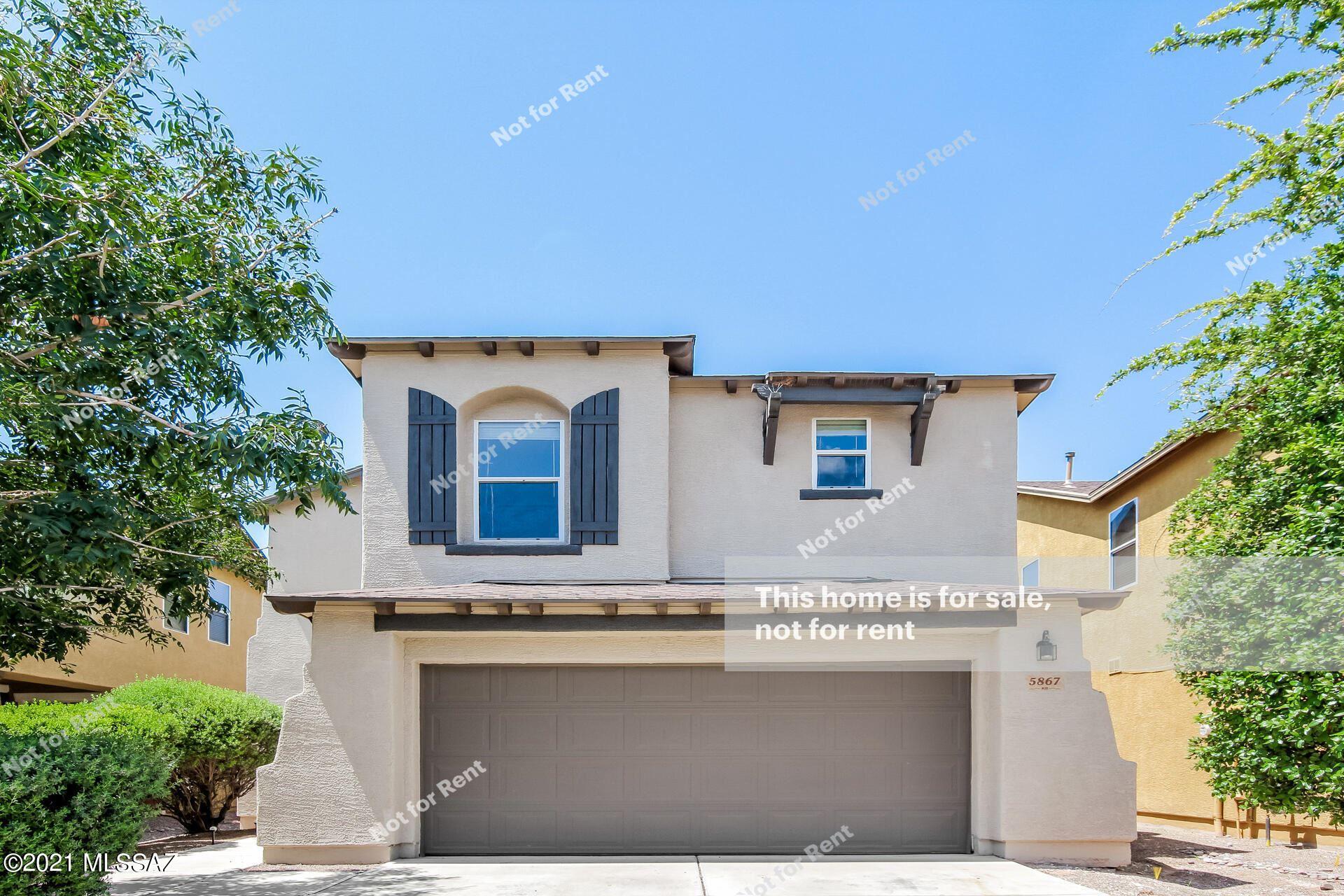 5867 N Orangetip Drive, Tucson, AZ 85741 - MLS#: 22121653