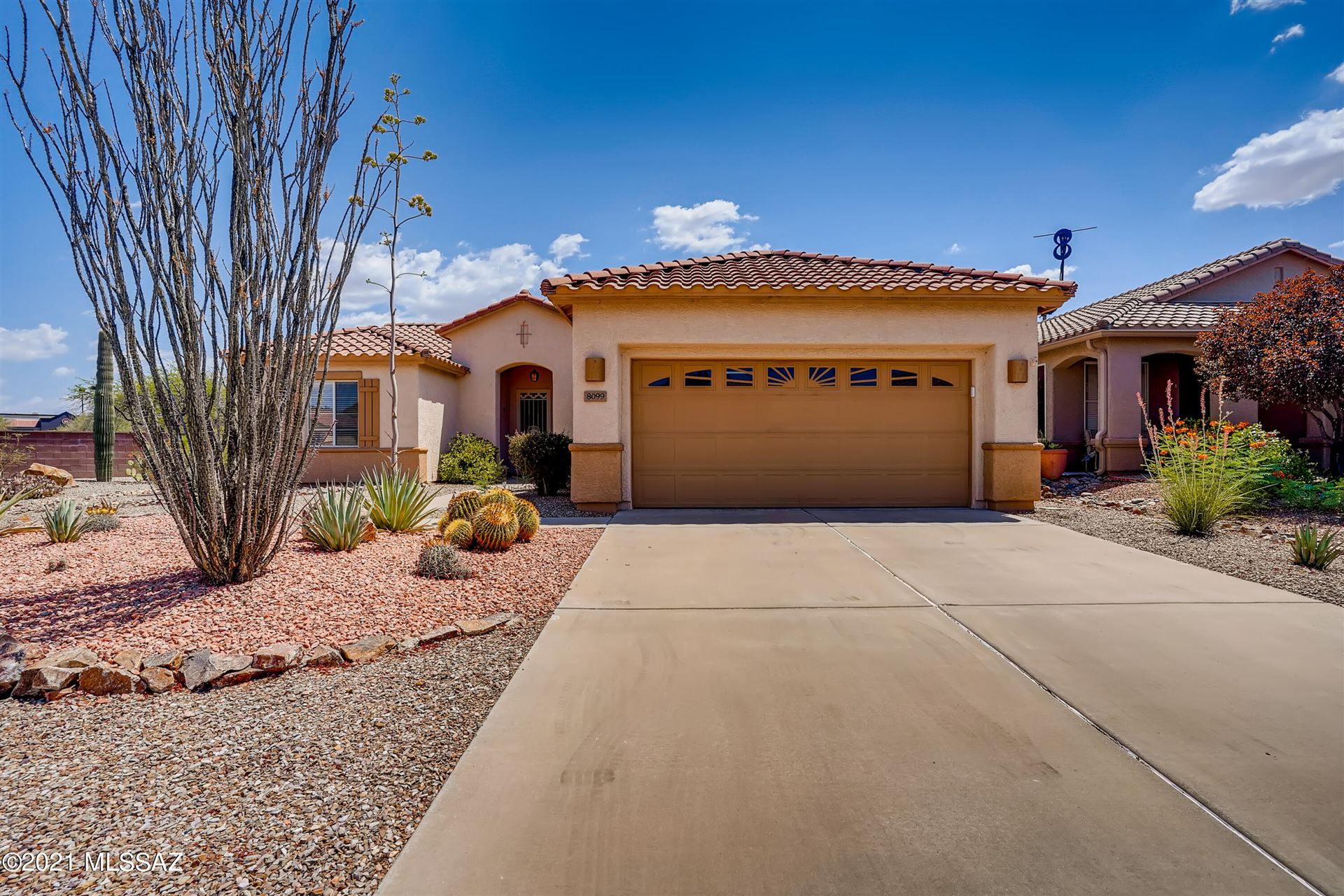 8099 W Blowing Tumbleweed Place, Tucson, AZ 85743 - MLS#: 22117700