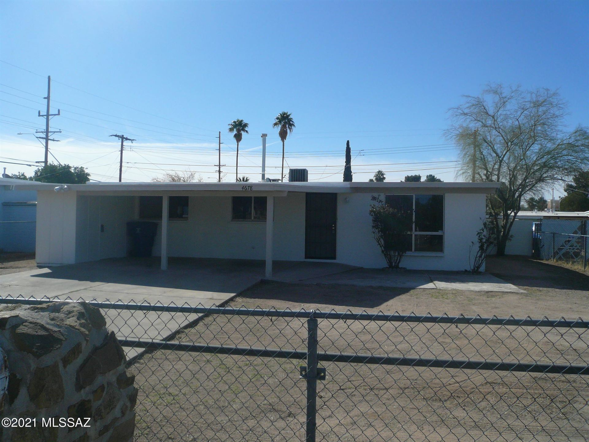 4678 E 25Th Street, Tucson, AZ 85711 - MLS#: 22101741