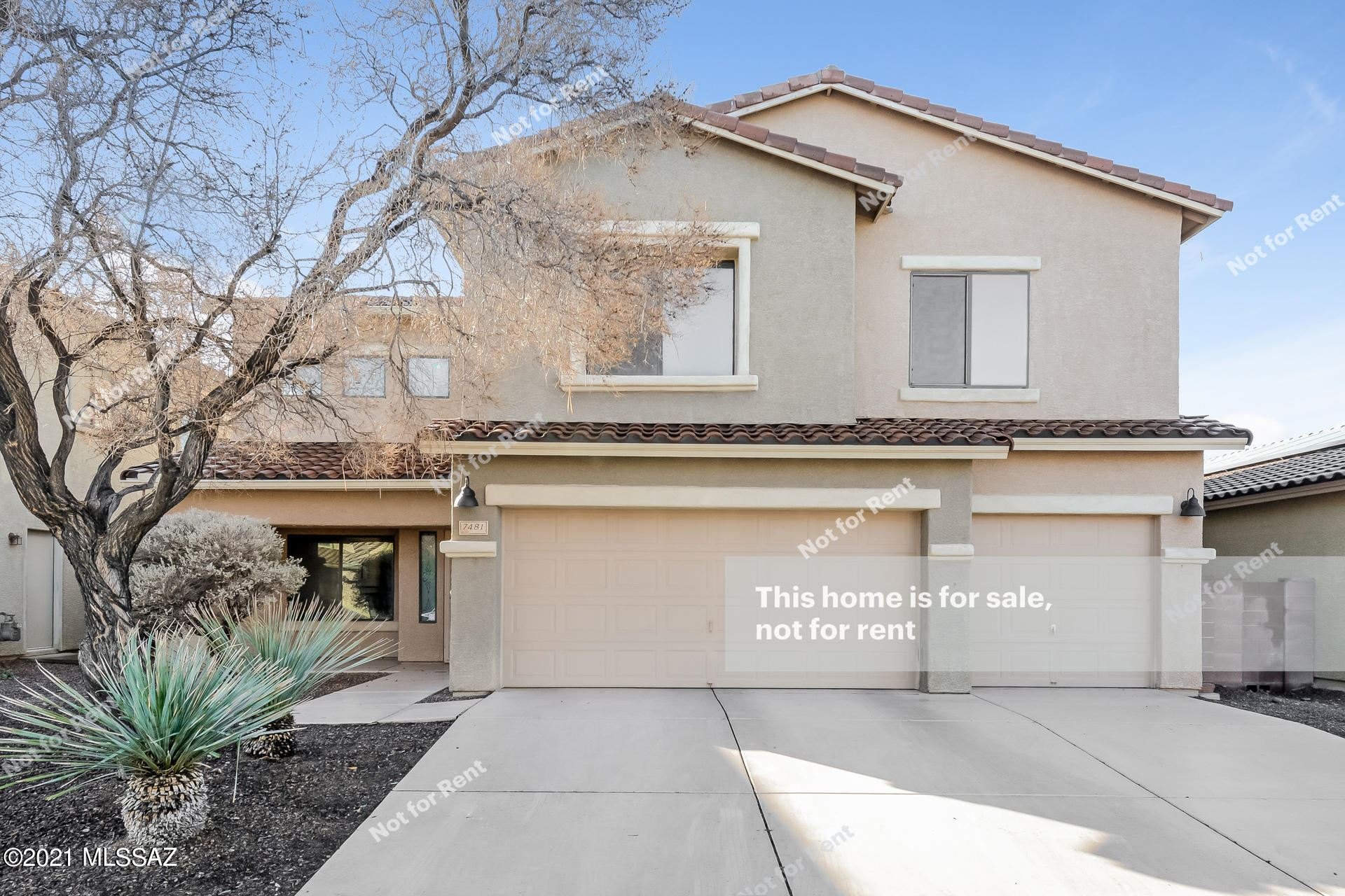 7481 W Shining Amber Lane, Tucson, AZ 85743 - #: 22102763
