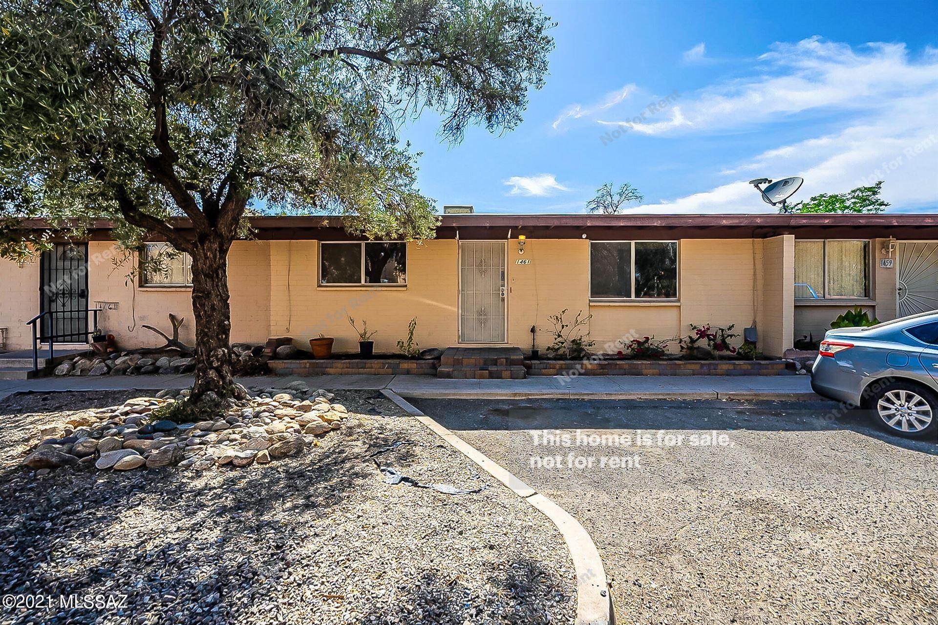 1461 W Roger Road, Tucson, AZ 85705 - MLS#: 22114778