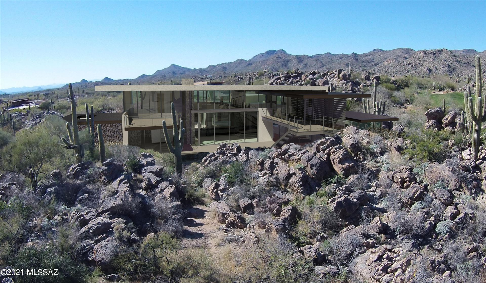 14555 N Blazing Canyon Drive, Oro Valley, AZ 85755 - MLS#: 22028793
