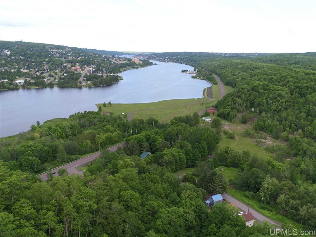 Photo of TBD A & B Canal, Houghton, MI 49931 (MLS # 1124192)