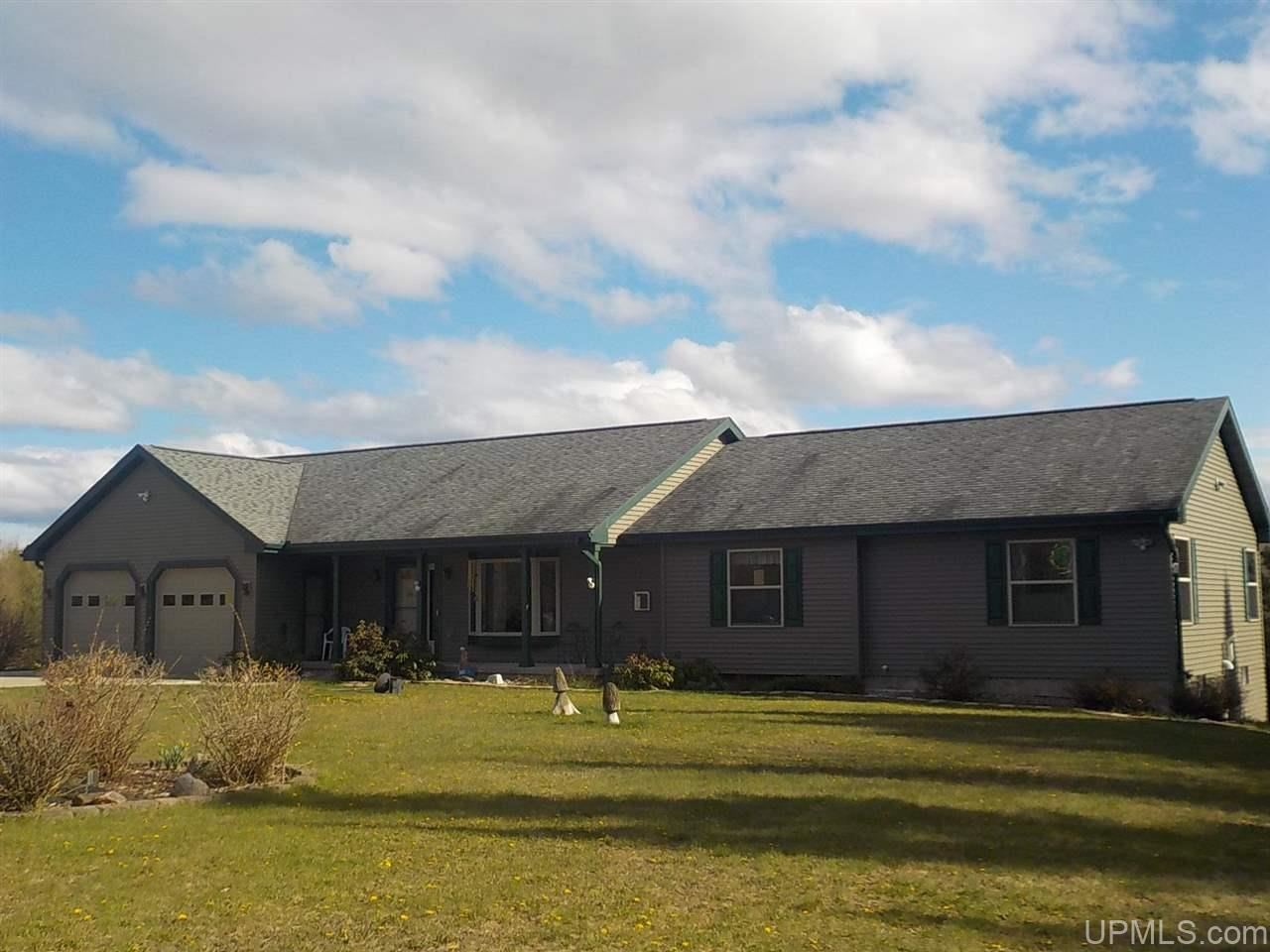 Photo of 6551 Caps Creek, Republic, MI 49879 (MLS # 1125338)