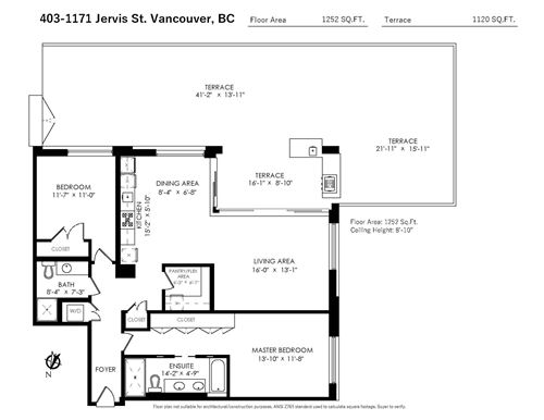 Tiny photo for 403 1171 JERVIS STREET, Vancouver, BC V6E 0C9 (MLS # R2591528)