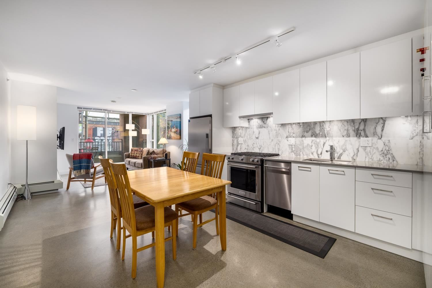 Photo for 207 231 E PENDER STREET, Vancouver, BC V6A 0G3 (MLS # R2625636)
