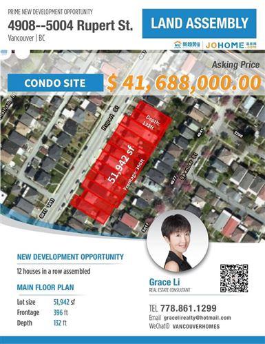 Photo of 4982 RUPERT STREET, Vancouver, BC V5R 2J8 (MLS # R2543726)