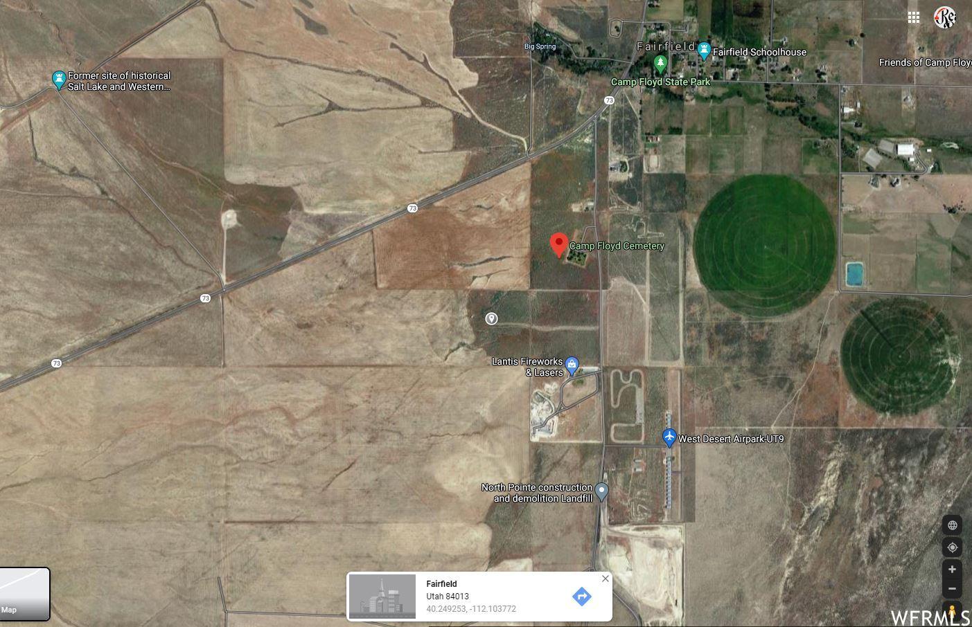 Photo of 909 N 18150 WEST BACK 40, Fairfield, UT 84013 (MLS # 1723030)