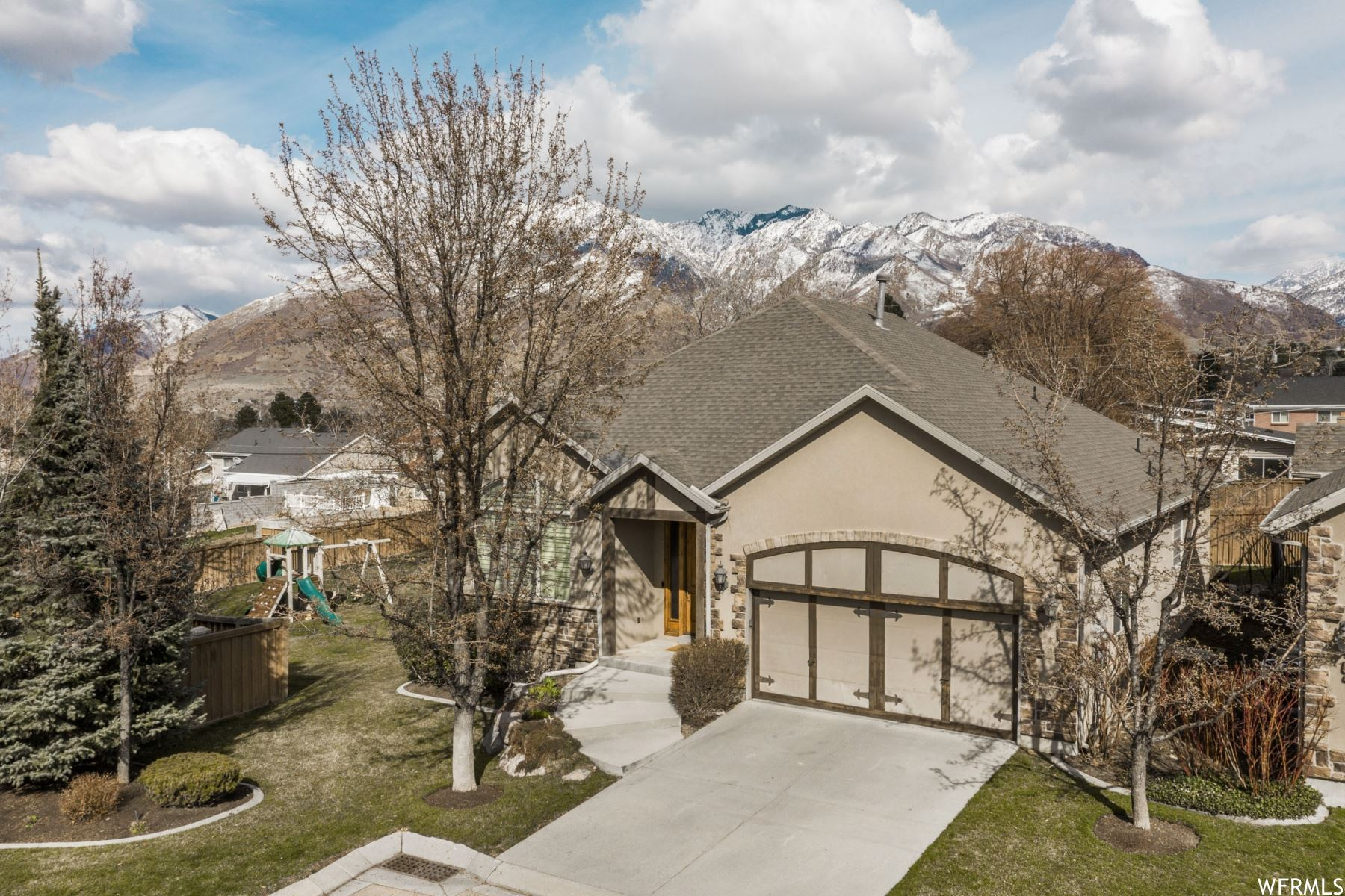 Photo of 7153 S VILLANDRIE LN, Cottonwood Heights, UT 84121 (MLS # 1732130)