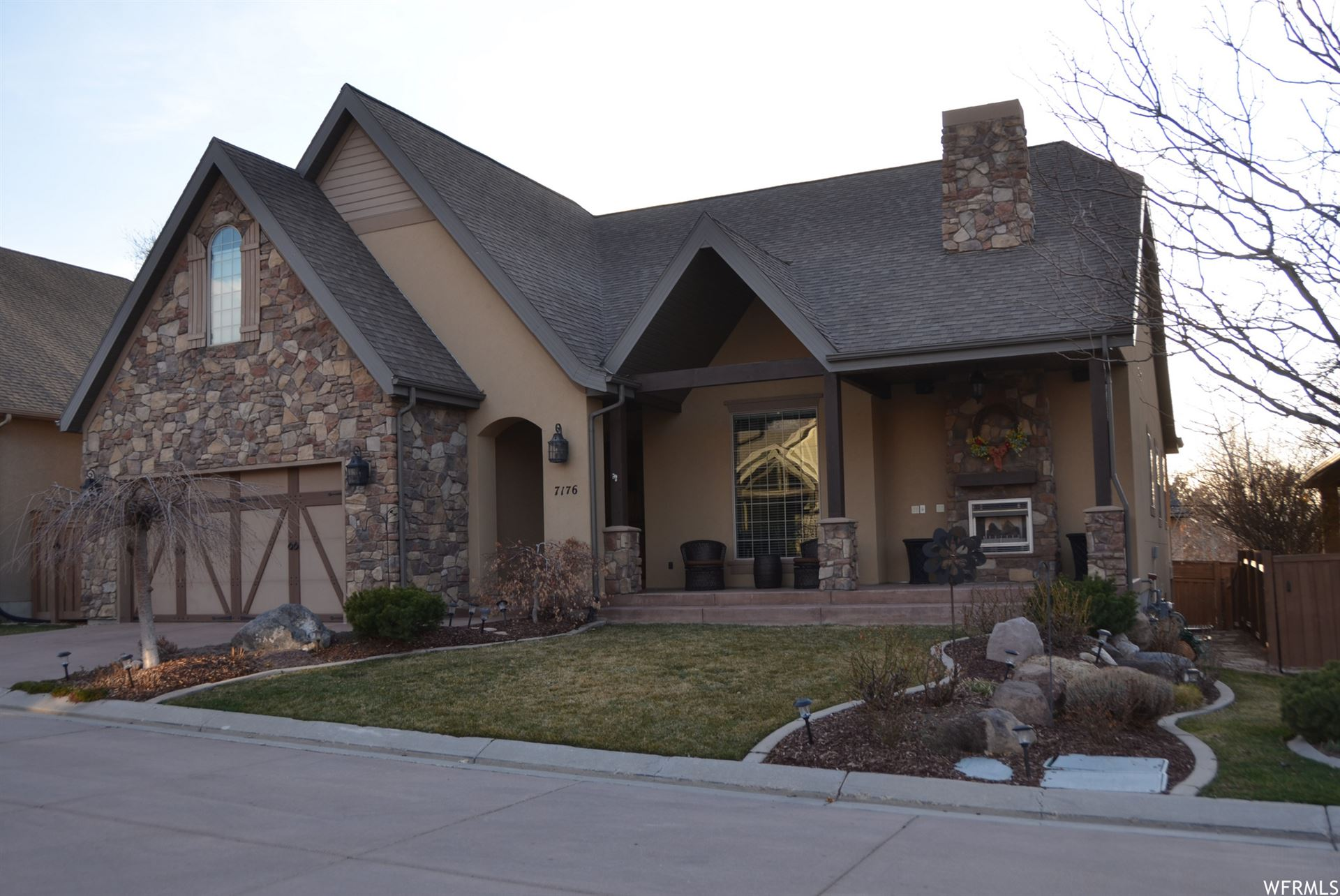 Photo of 7176 S VILLANDRIE E LN, Cottonwood Heights, UT 84121 (MLS # 1730193)