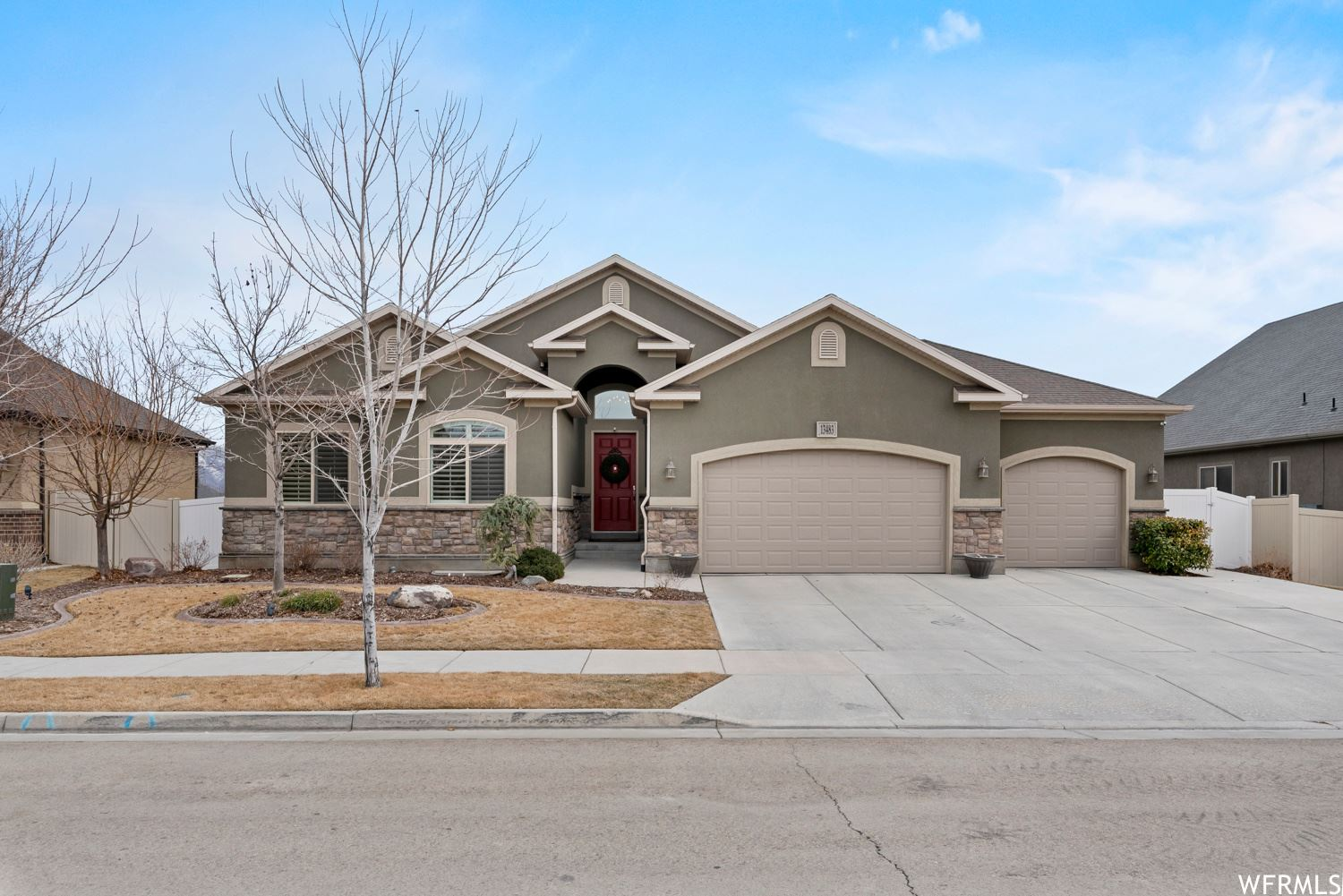 Photo of 13483 S CHAMONIX WAY, Riverton, UT 84065 (MLS # 1724198)