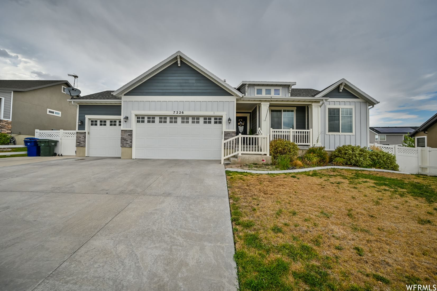Photo of 7226 W SILHOUETTE S LN, West Valley City, UT 84081 (MLS # 1757227)