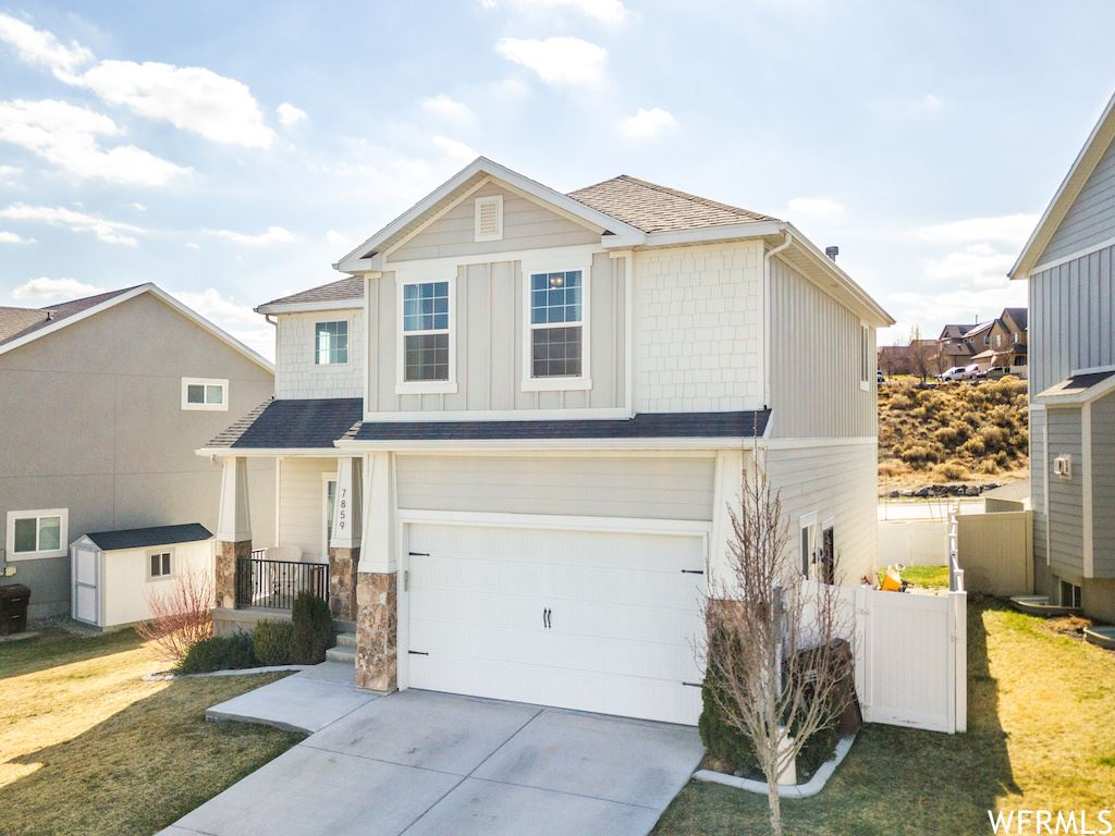 Photo of 7859 N SAGEBRUSH LN, Eagle Mountain, UT 84005 (MLS # 1732492)
