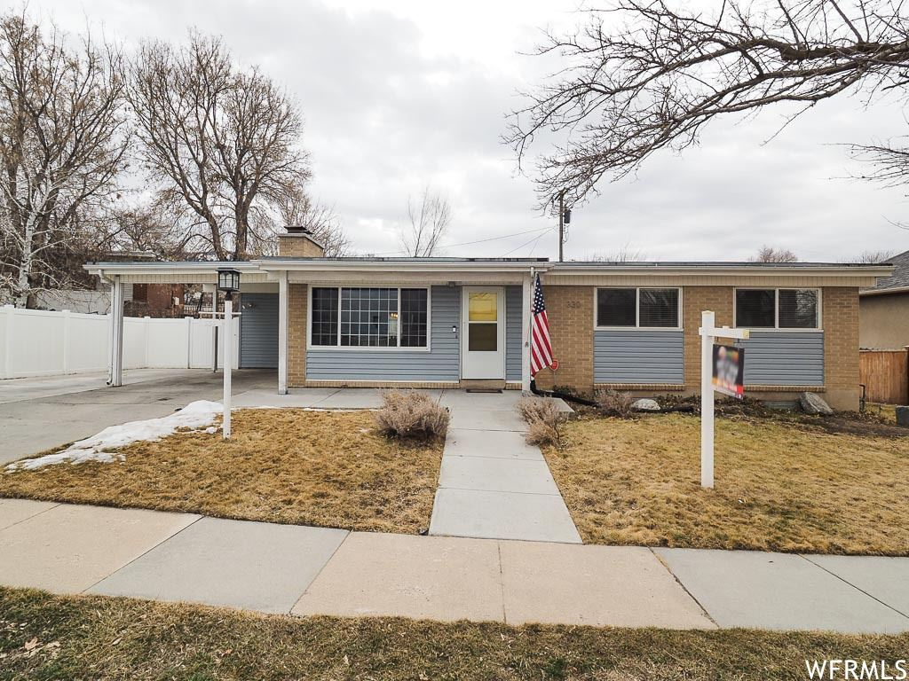Photo of 330 E 1650 S, Bountiful, UT 84010 (MLS # 1724533)