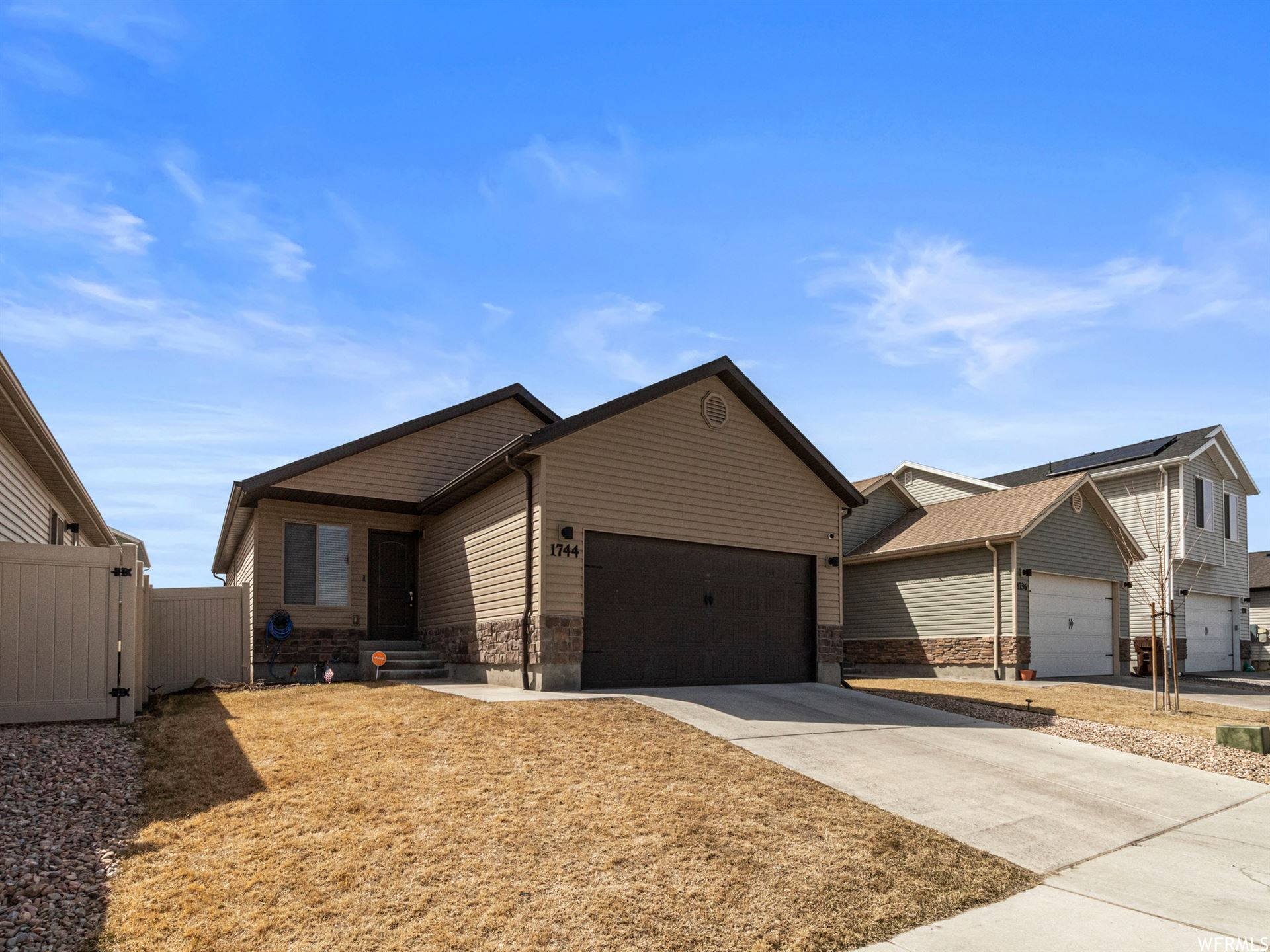 Photo of 1744 TUMMWATER E LN, Eagle Mountain, UT 84005 (MLS # 1732627)