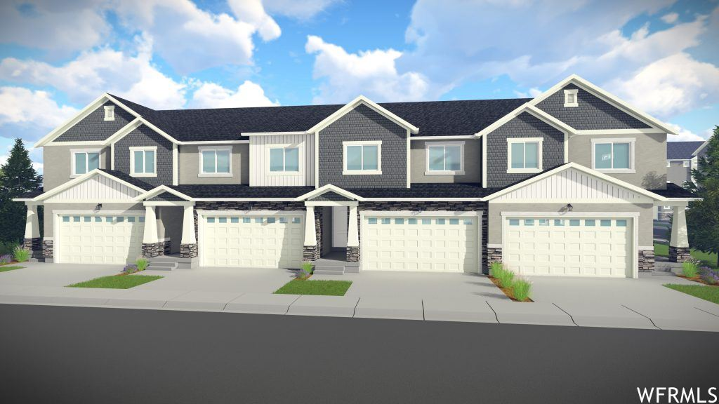 Photo of 5098 W TYCE LN #417, Herriman, UT 84096 (MLS # 1708741)