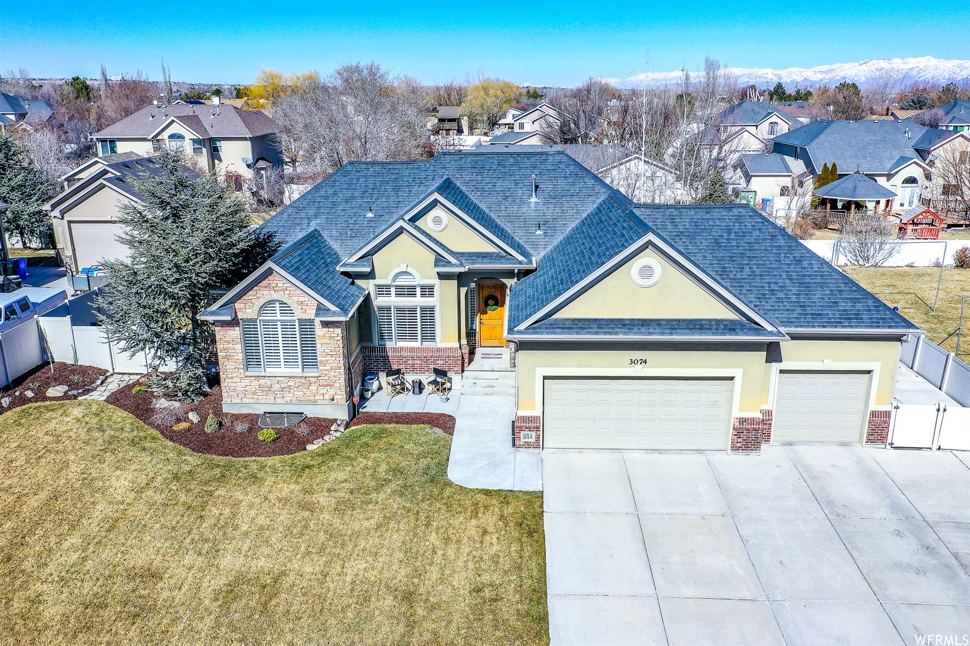 Photo of 3074 W 12875 S, Riverton, UT 84065 (MLS # 1723744)