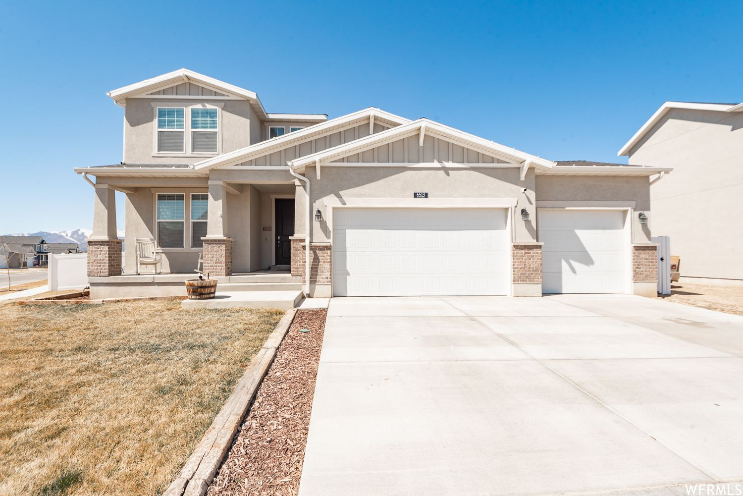 Photo of 6513 N DAVIS KNOLLS DR, Eagle Mountain, UT 84005 (MLS # 1732896)