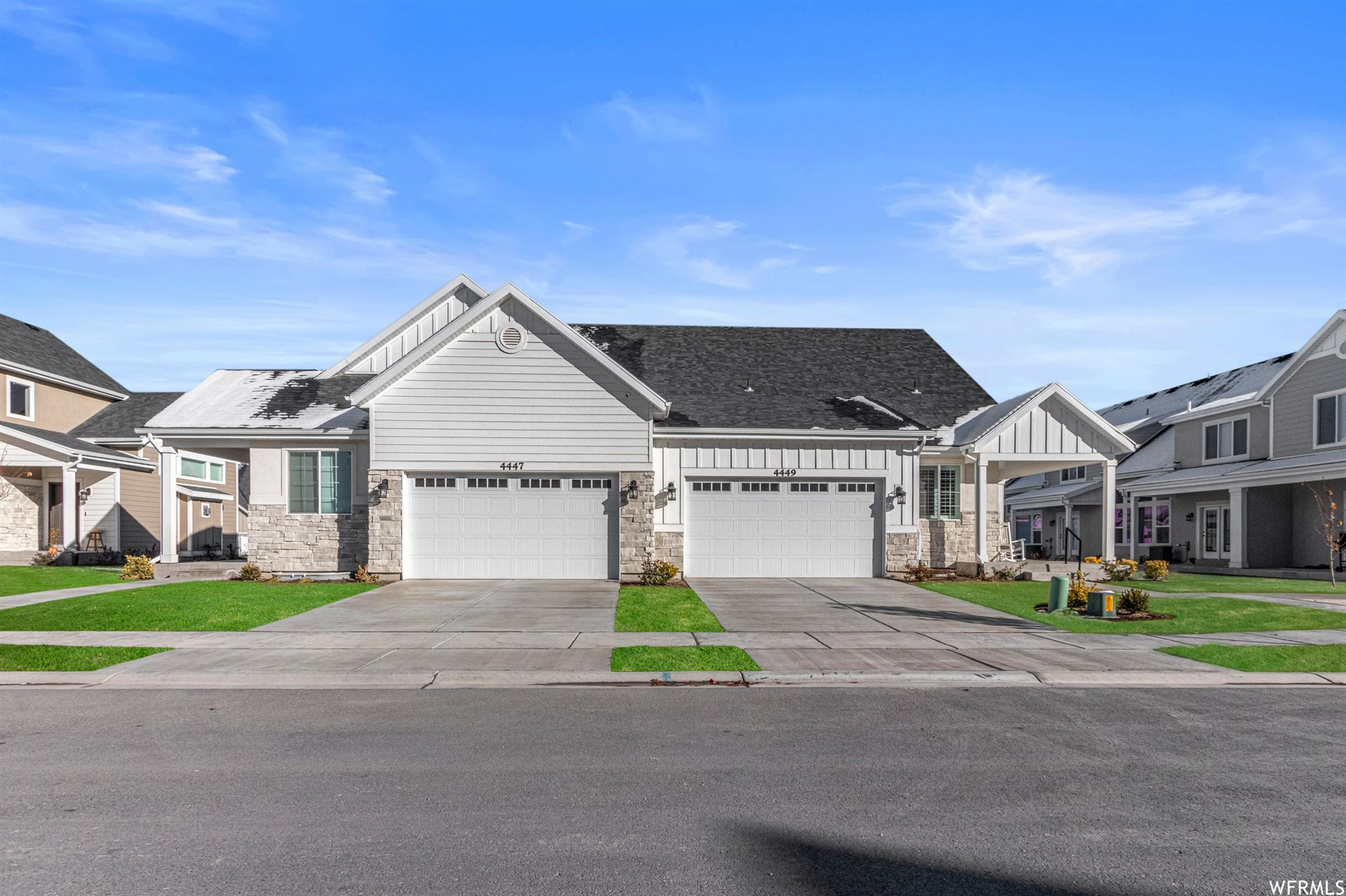 Photo of 541 E FASHION CREEK CT S #3, Murray, UT 84107 (MLS # 1703913)