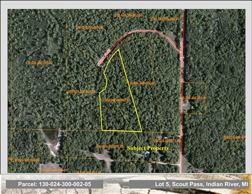 Photo of Lot 5 Scout Pass Road, Indian River, MI 49749 (MLS # 201815190)