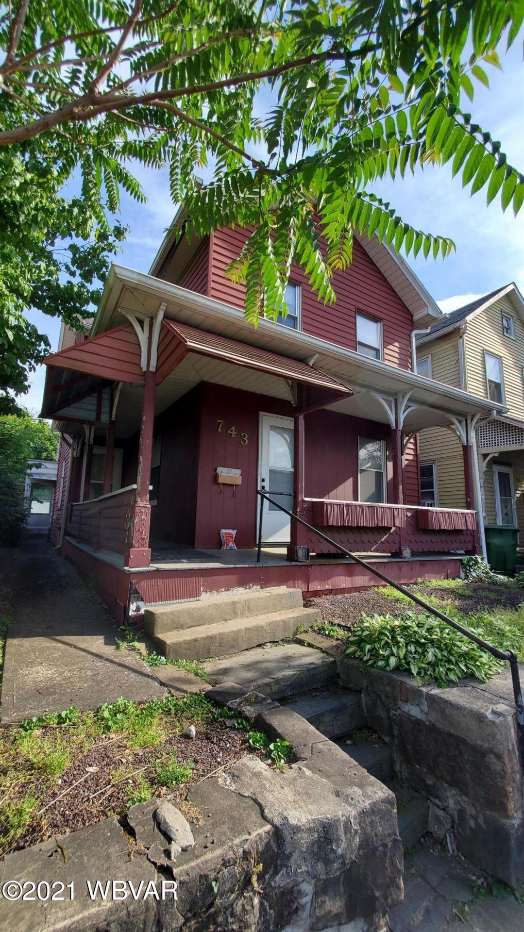 743 2ND STREET, Williamsport, PA 17701 - #: WB-93001