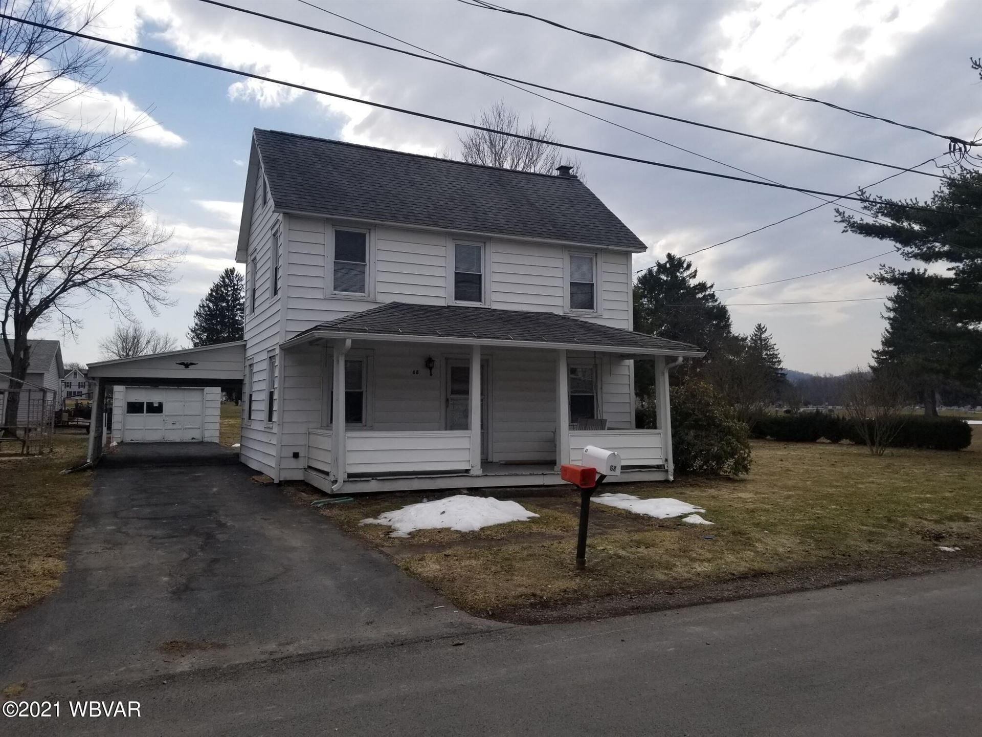 68 FAIRGROUND STREET, Muncy, PA 17756 - #: WB-92052