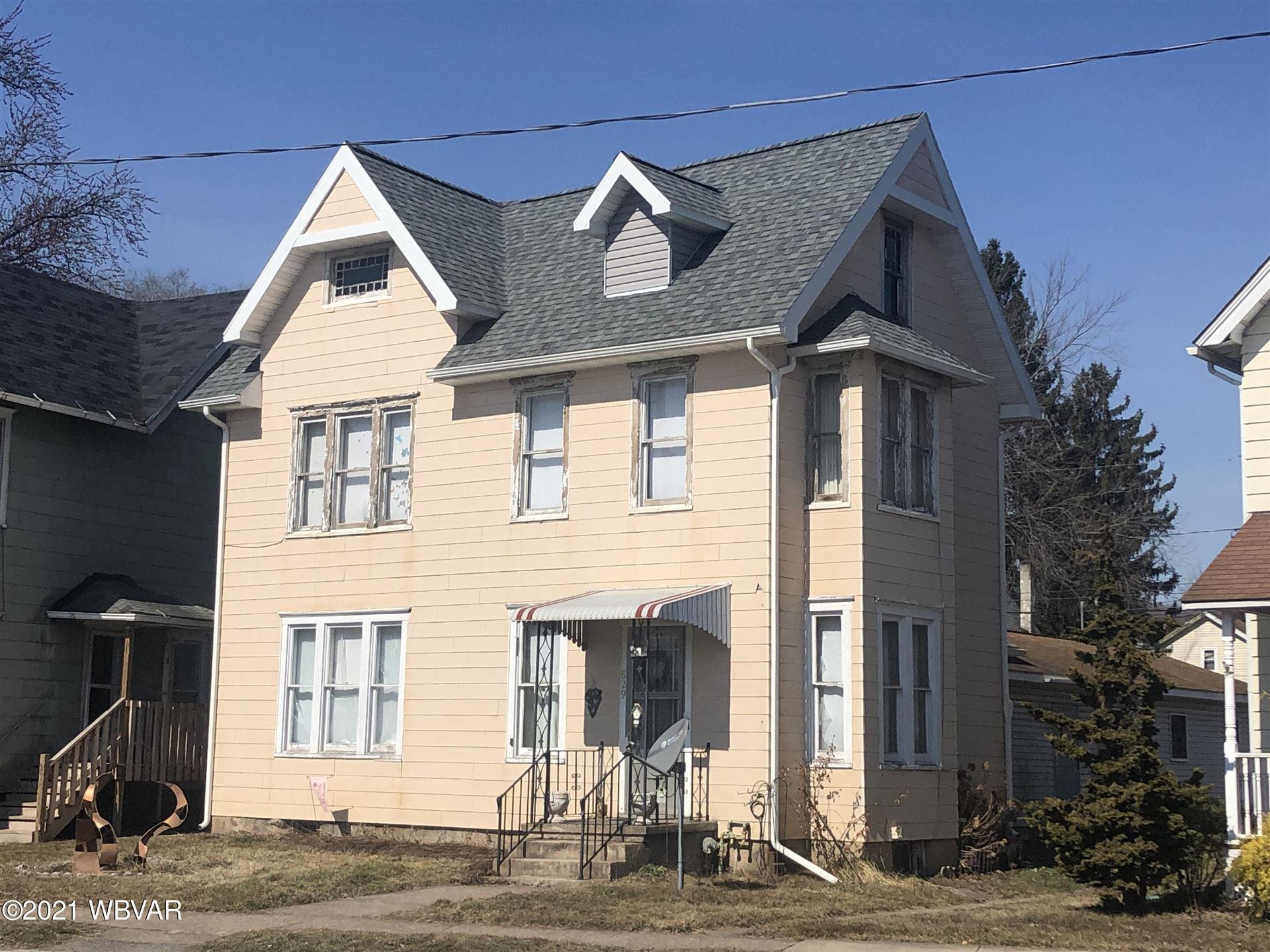 829 WASHINGTON BOULEVARD, Williamsport, PA 17701 - #: WB-92059