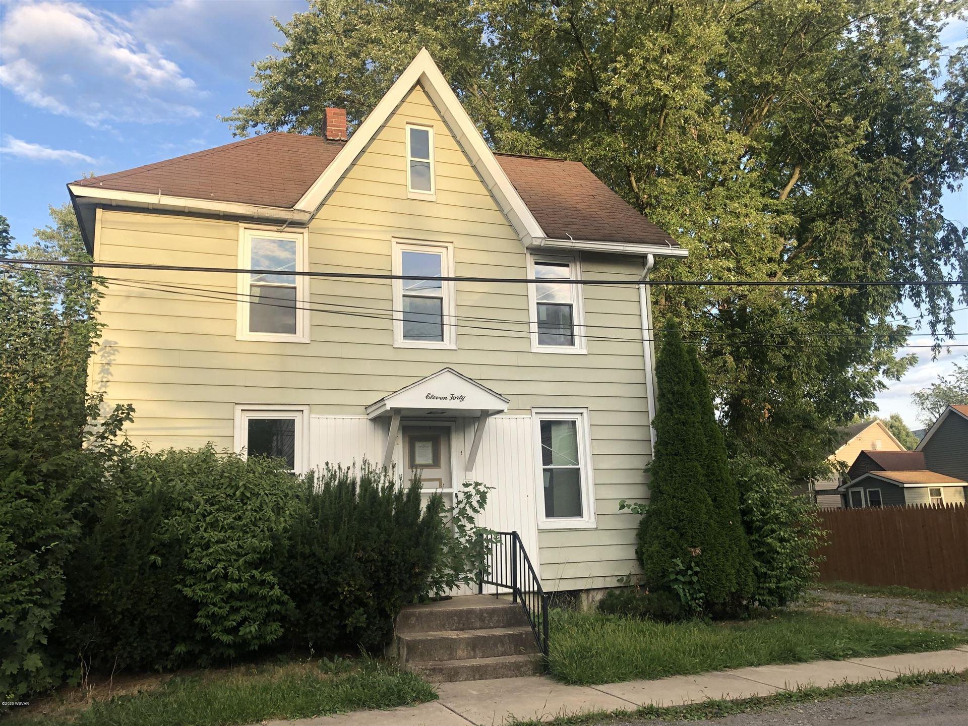 1140 GROVE STREET, Williamsport, PA 17701 - #: WB-91085