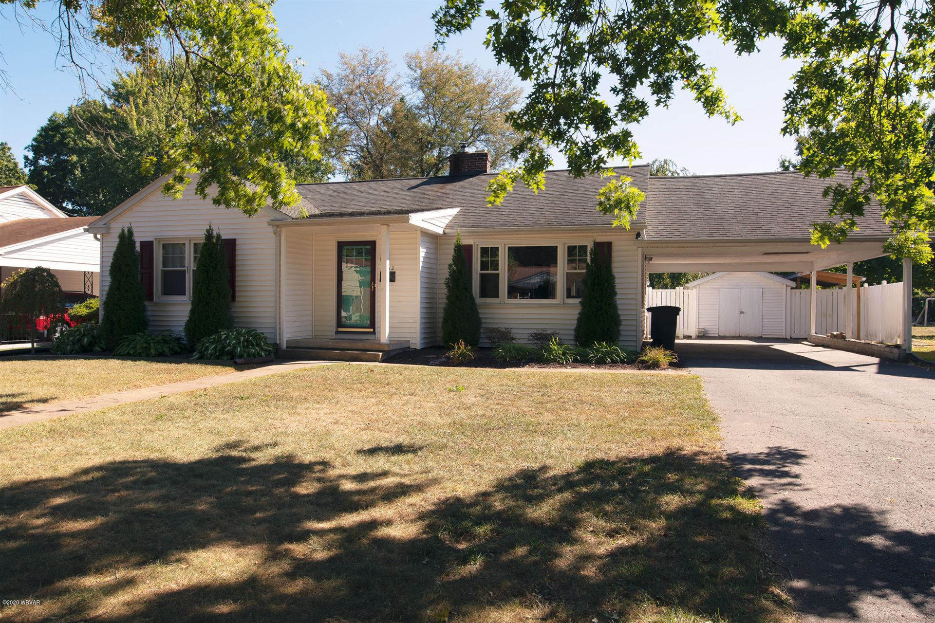 2312 BLAIR STREET, Williamsport, PA 17701 - #: WB-91166