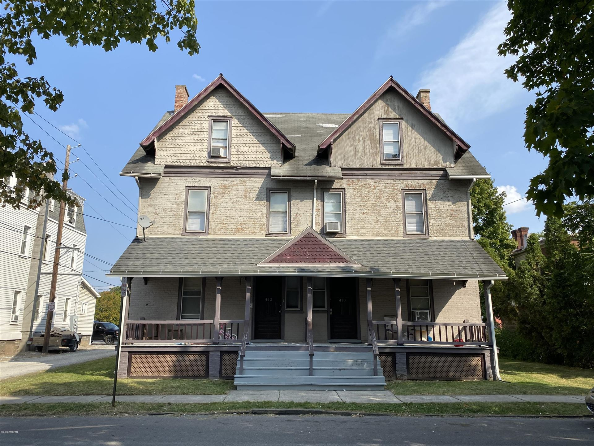 410-412 THIRD AVENUE, Williamsport, PA 17701 - #: WB-91197