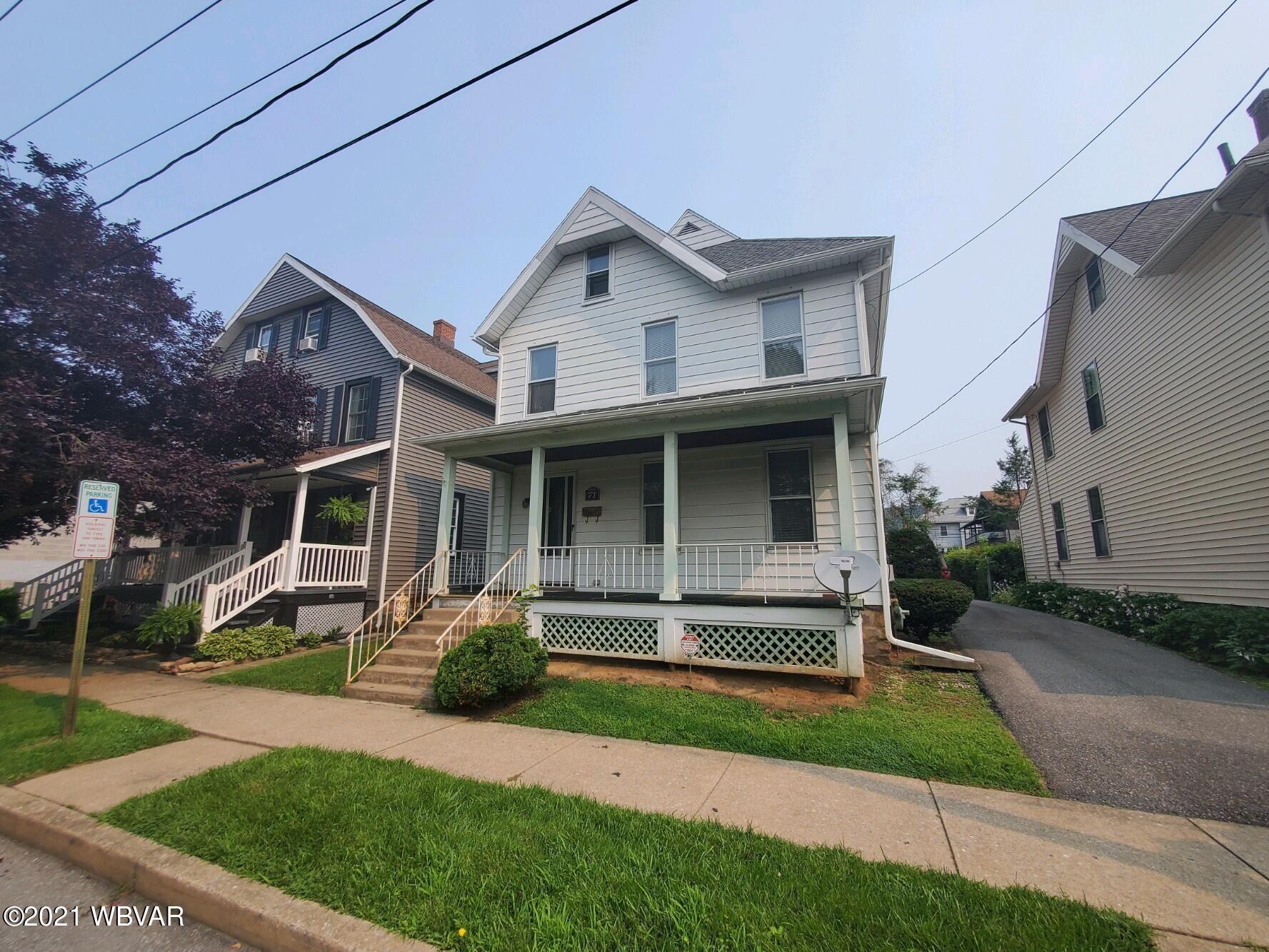 71 ELDRED STREET, Williamsport, PA 17701 - #: WB-93231