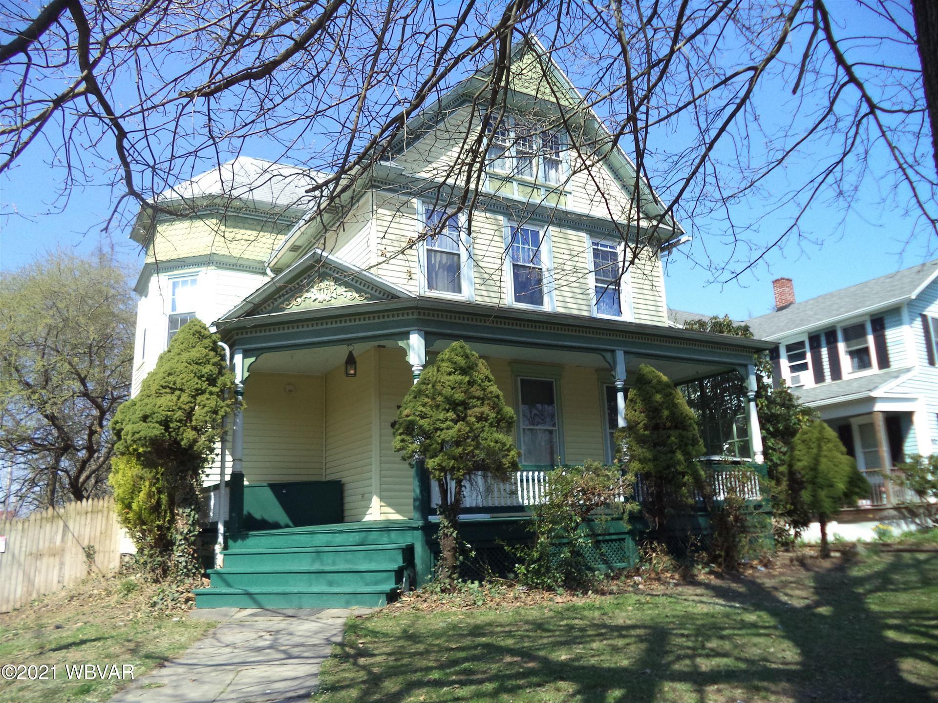 817 ELMIRA STREET, Williamsport, PA 17701 - #: WB-92258
