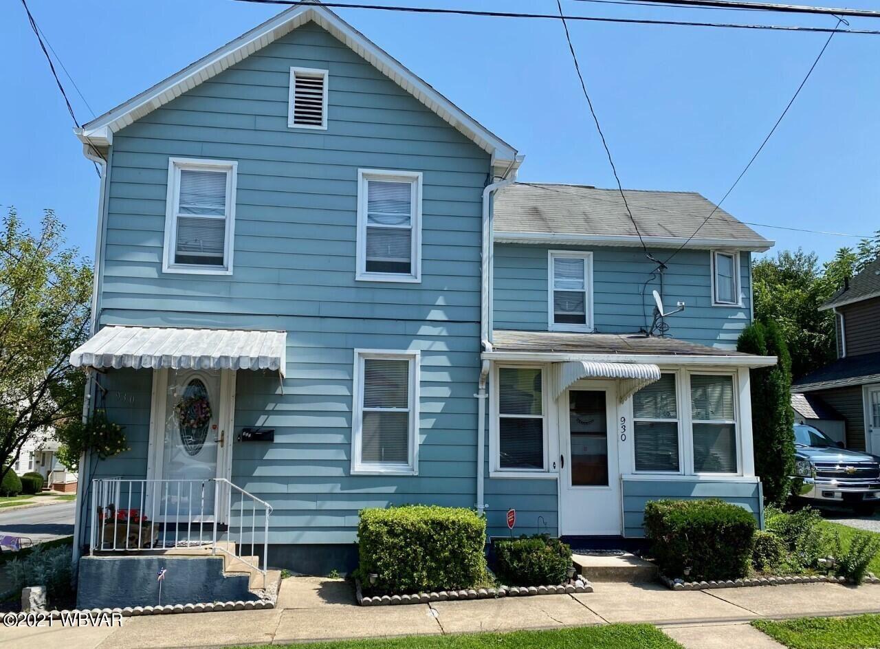 930 ALMOND STREET, Williamsport, PA 17701 - #: WB-93336