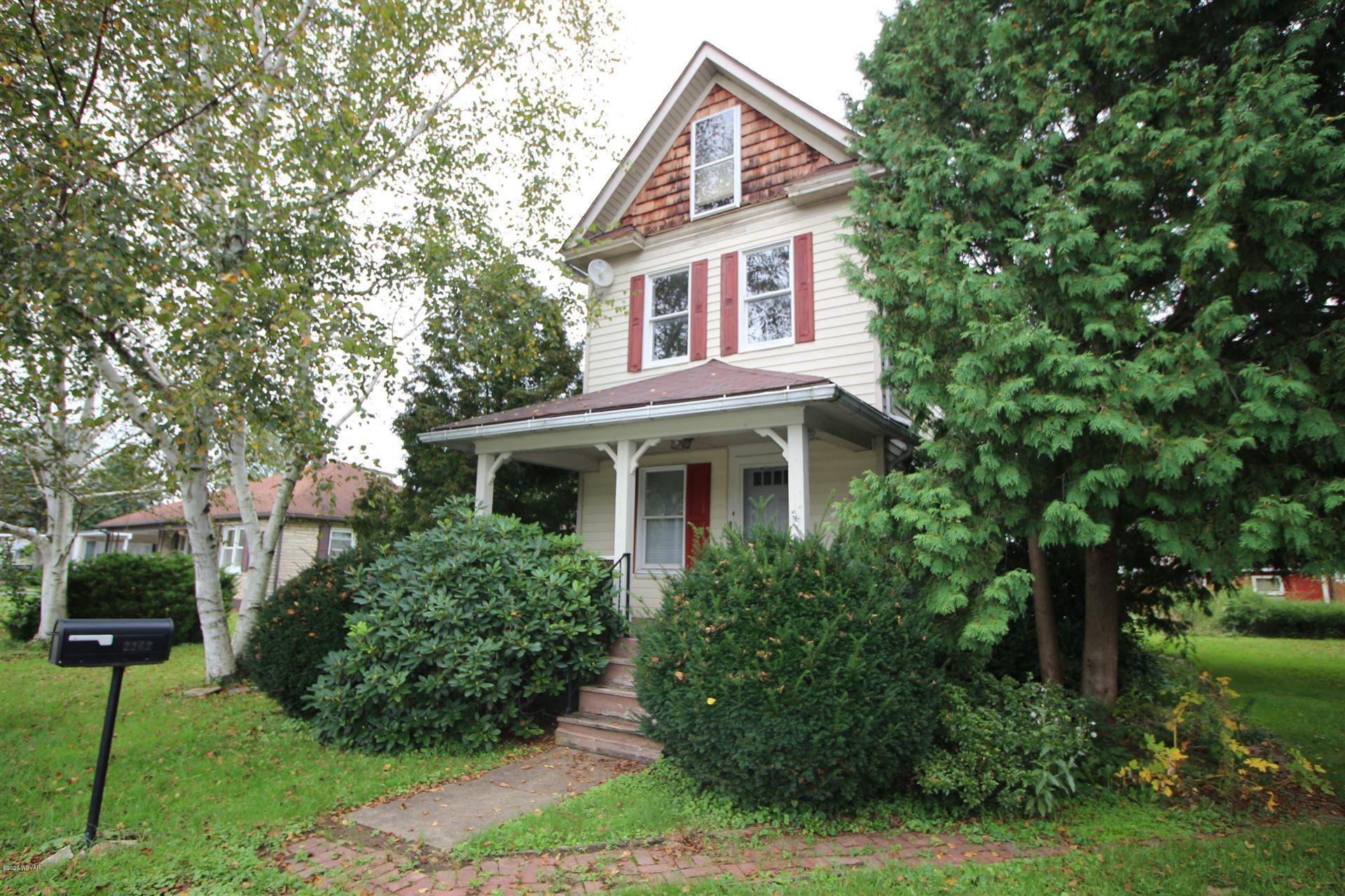 2262 CENTRAL AVENUE, Williamsport, PA 17701 - #: WB-91356