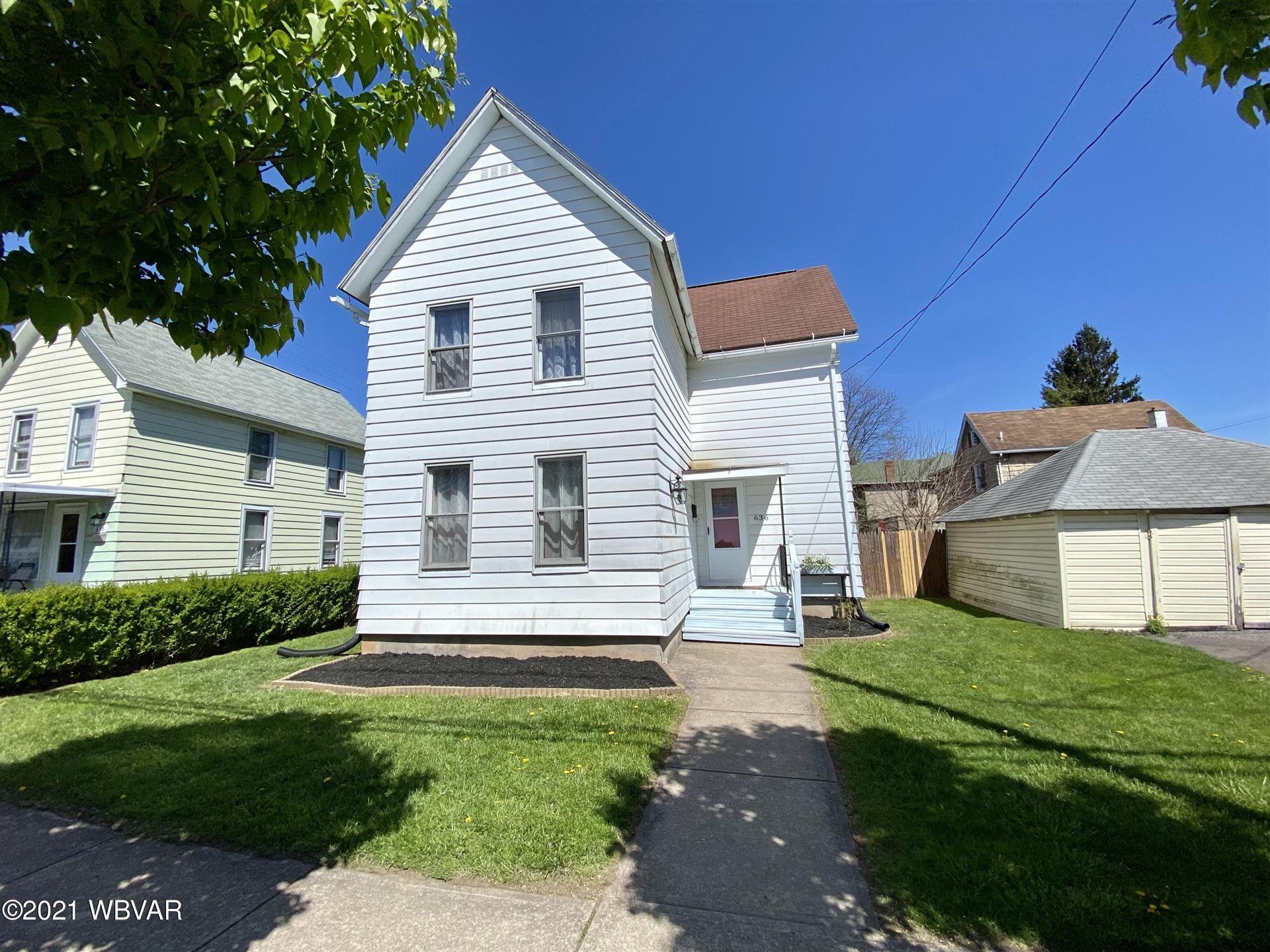 636 GRIER STREET, Williamsport, PA 17701 - #: WB-92390