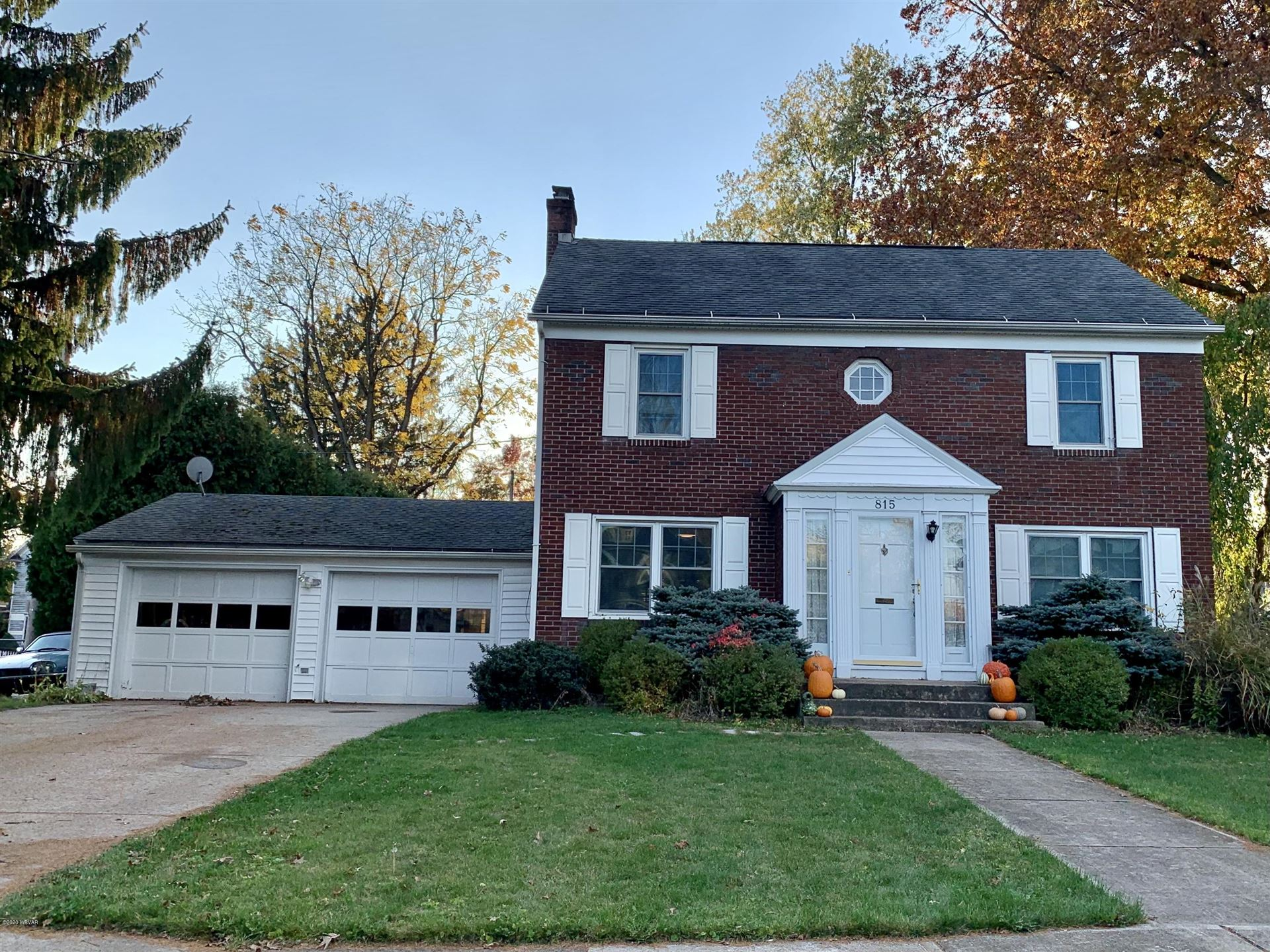 815 FAXON PARKWAY, Williamsport, PA 17701 - #: WB-91404