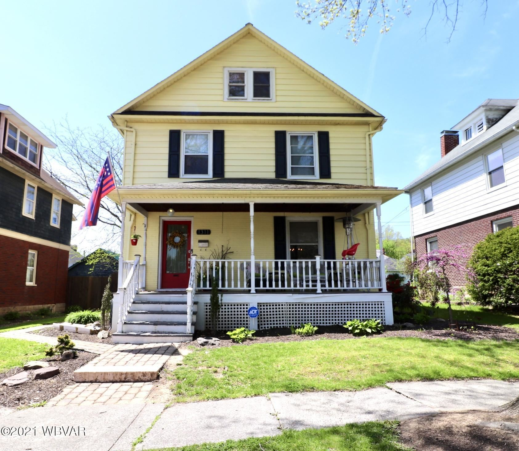 1311 CHERRY STREET, Williamsport, PA 17701 - #: WB-92440