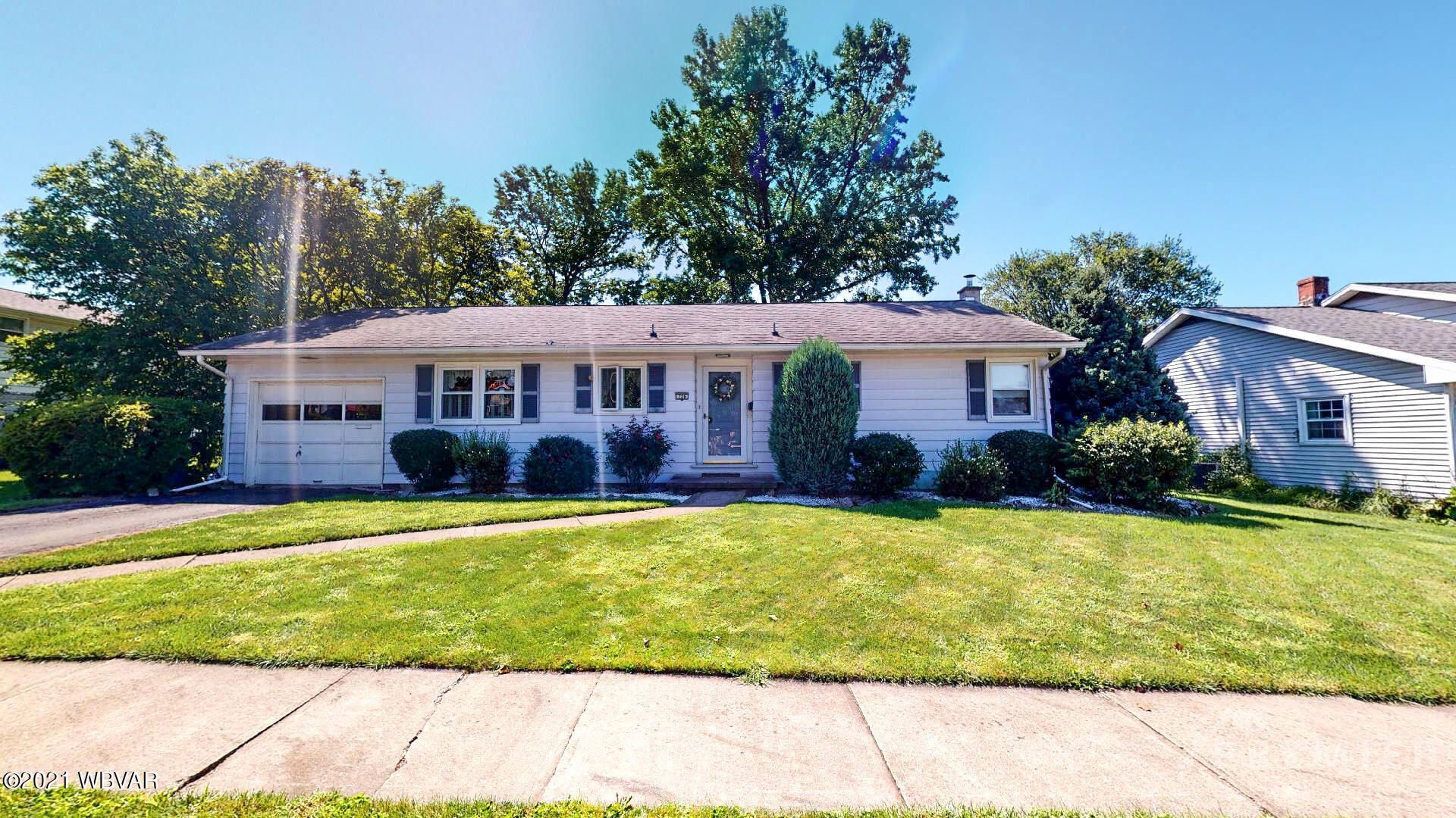 726 GRANDVIEW PLACE, South Williamsport, PA 17702 - #: WB-93440