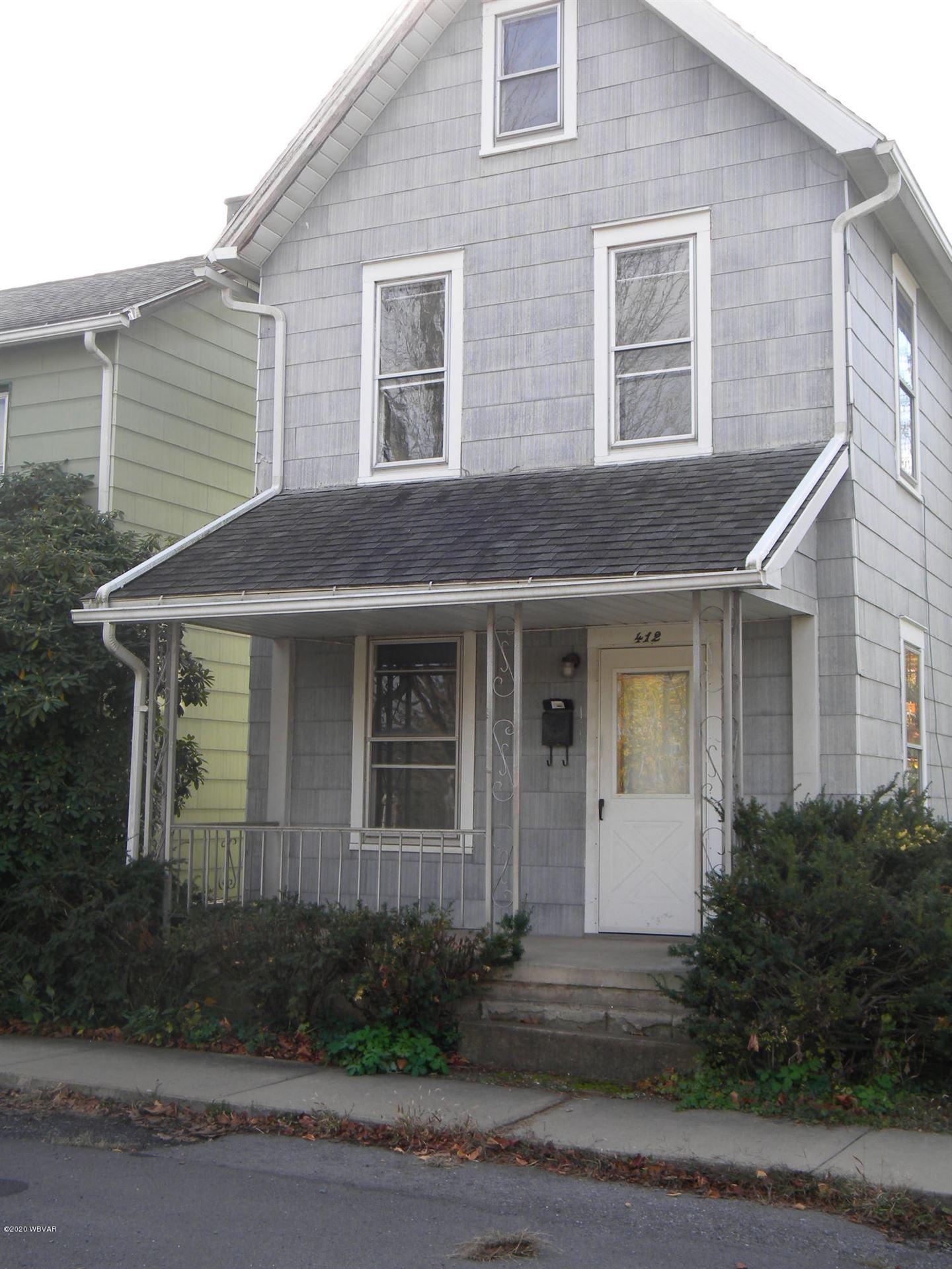 412 WYOMING STREET, Williamsport, PA 17701 - #: WB-91481