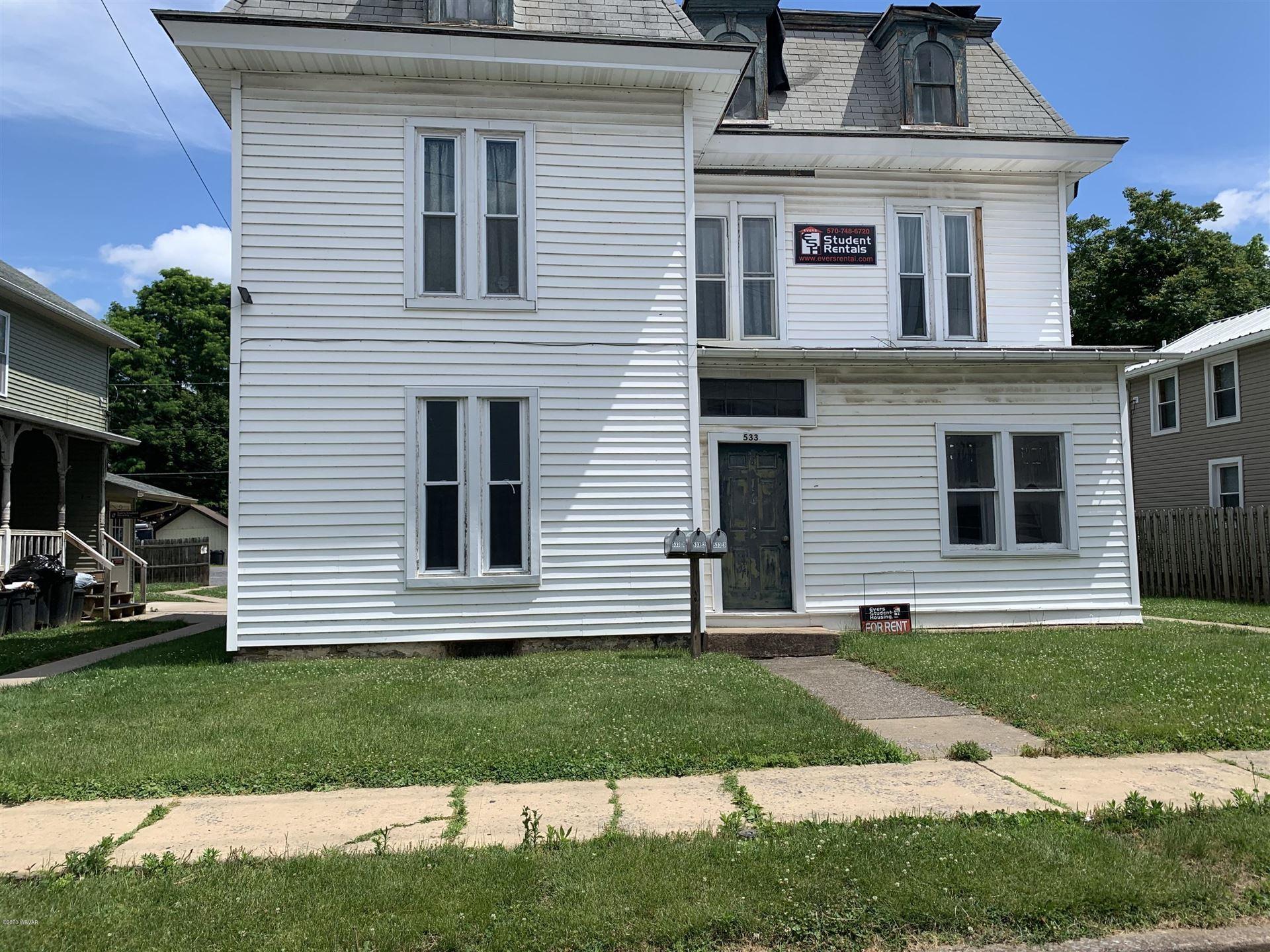 533 W CHURCH STREET, Lock Haven, PA 17745 - #: WB-90505