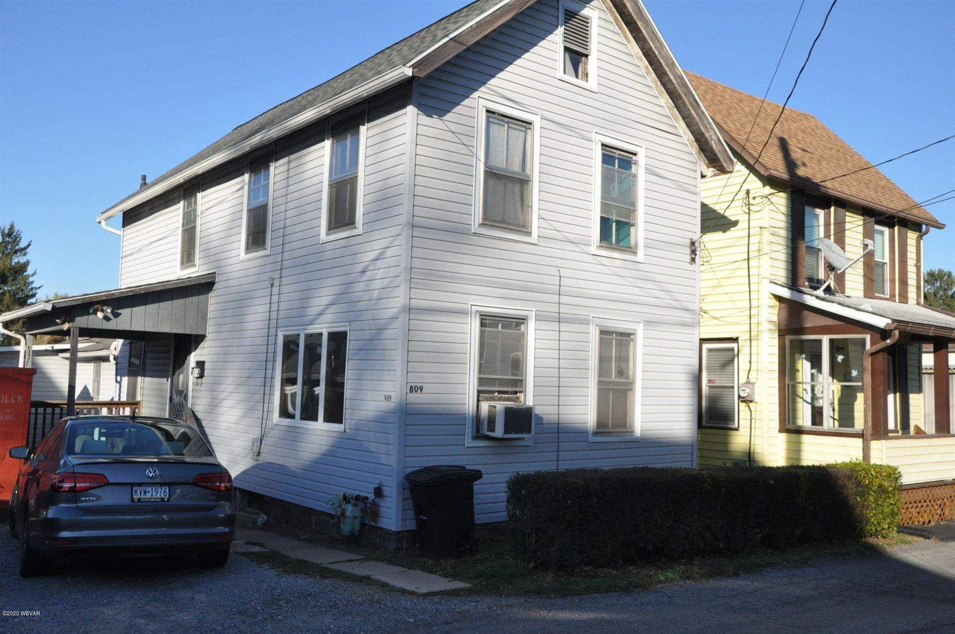 809 WYOMING STREET, Williamsport, PA 17701 - #: WB-91505