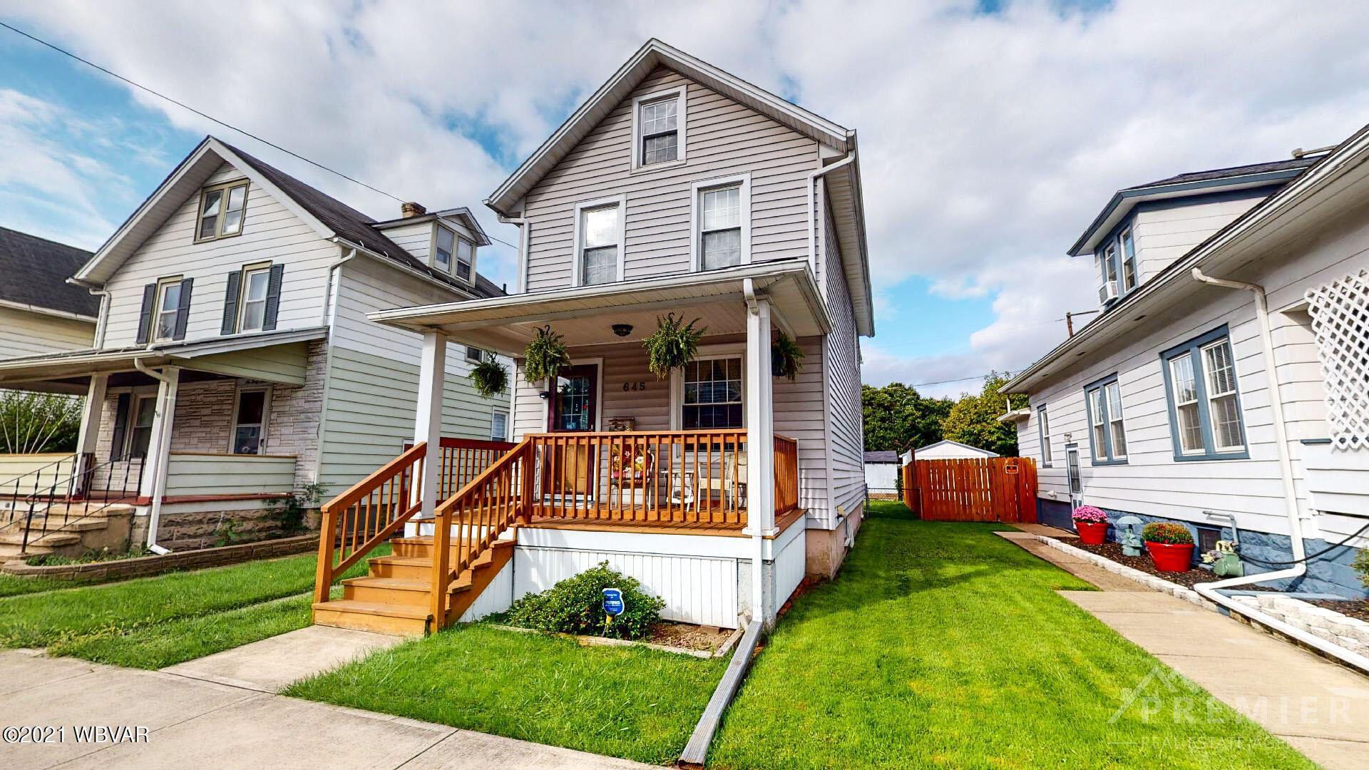 645 THIRD AVENUE, Williamsport, PA 17701 - #: WB-93520