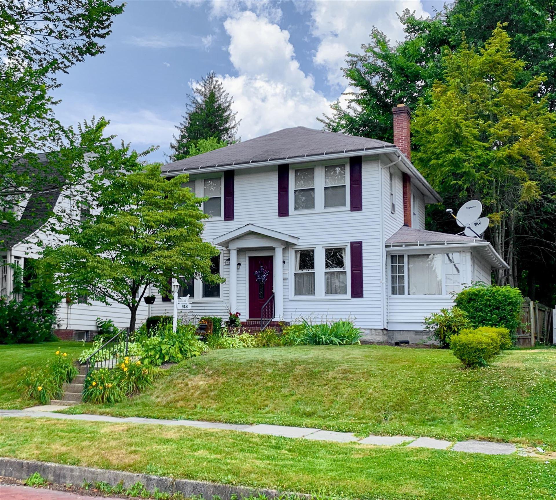 918 RURAL AVENUE, Williamsport, PA 17701 - #: WB-90526