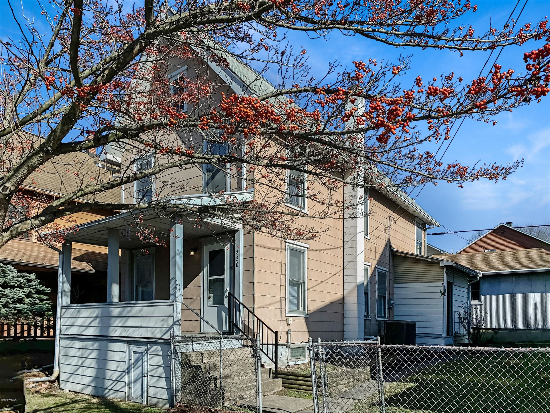 820 CHERRY STREET, Williamsport, PA 17701 - #: WB-89530
